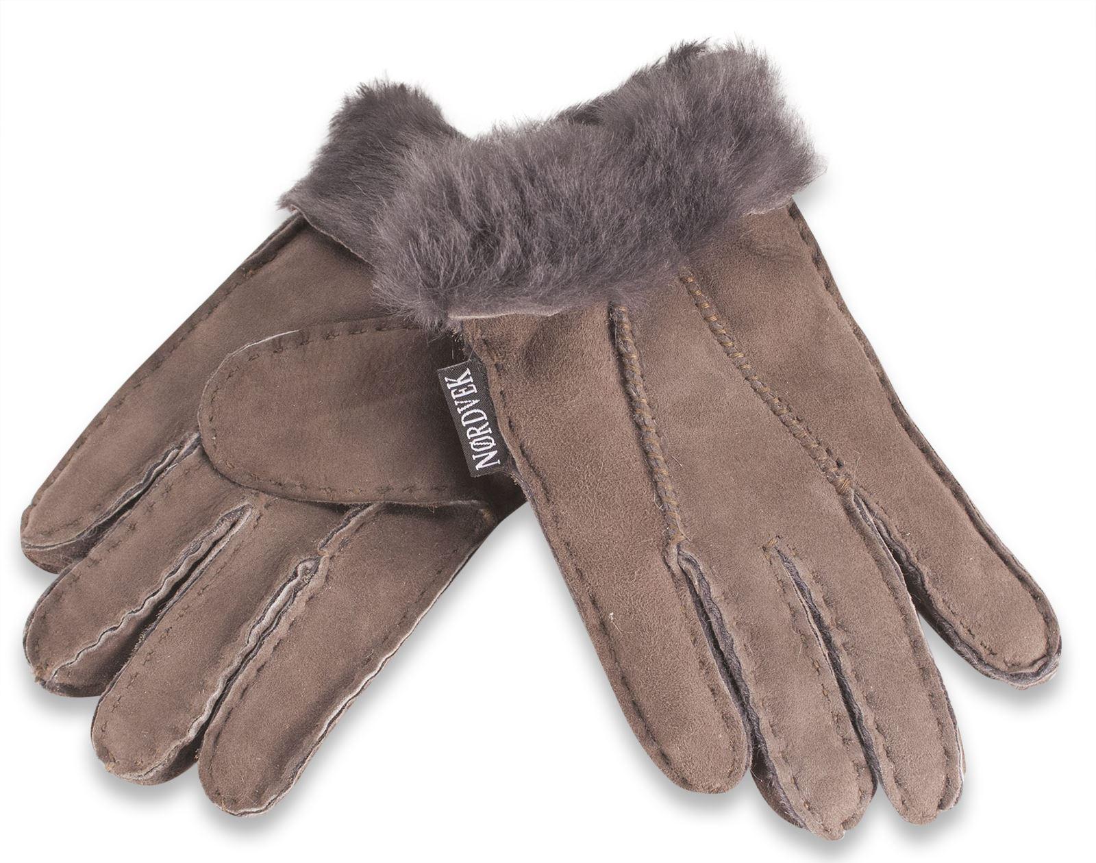 nordvek gants de peau de mouton v ritable pour enfants 3 8 ans filles gar ons ebay. Black Bedroom Furniture Sets. Home Design Ideas