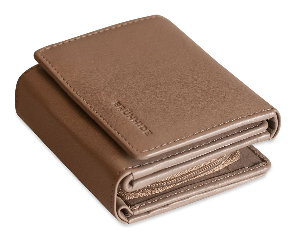 Brunhide Womens Genuine Leather Organiser Purse Wallet ...