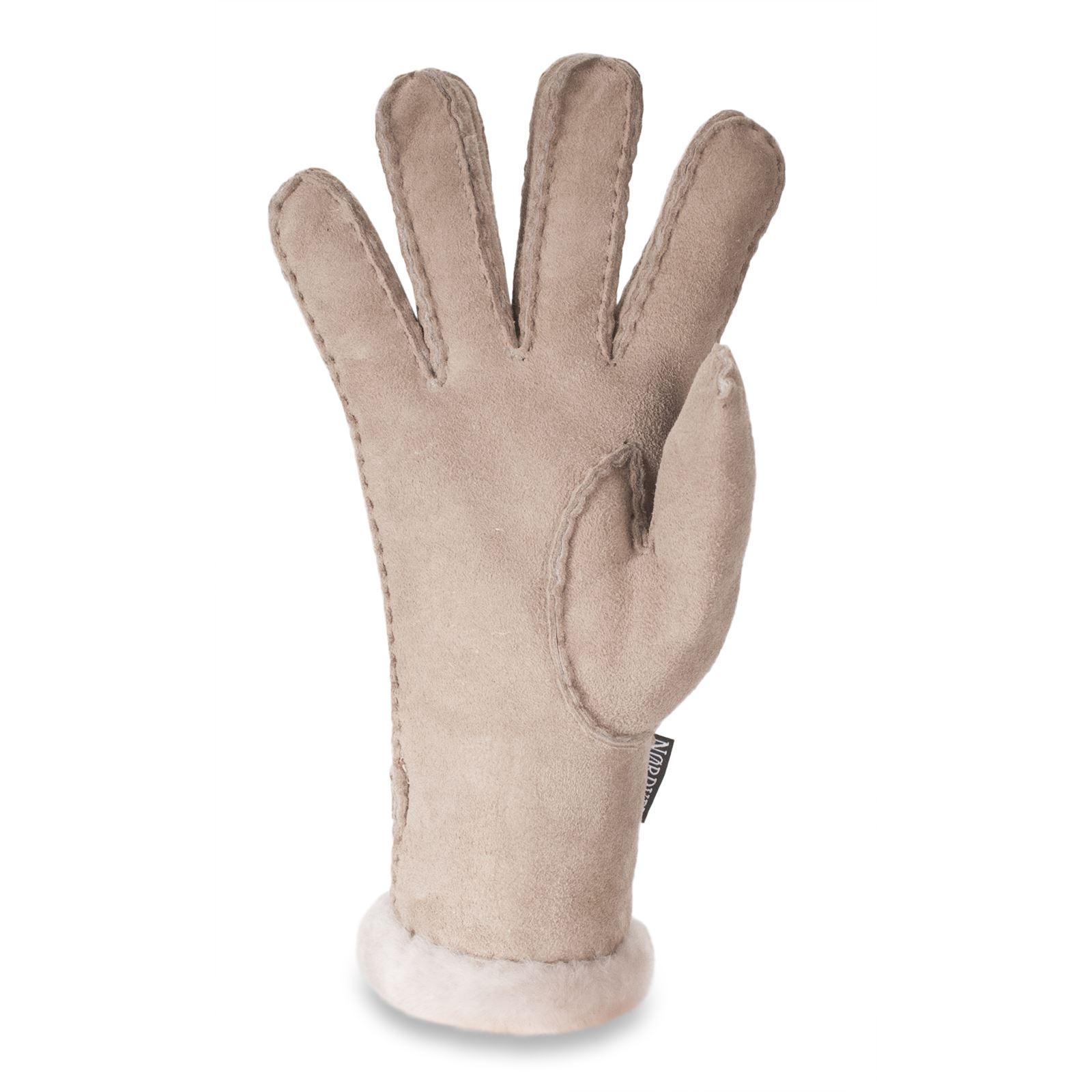 nordvek damen 100 echtes lammfell handschuhe wolle. Black Bedroom Furniture Sets. Home Design Ideas