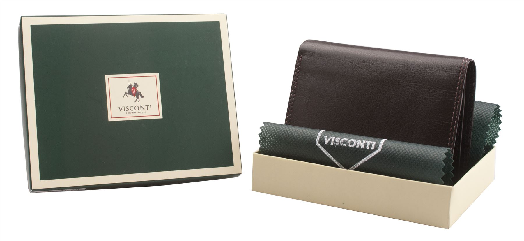 Visconti-Mens-Genuine-Leather-Trifold-Wallet-Real-Boxed-BRIXTON-HT11