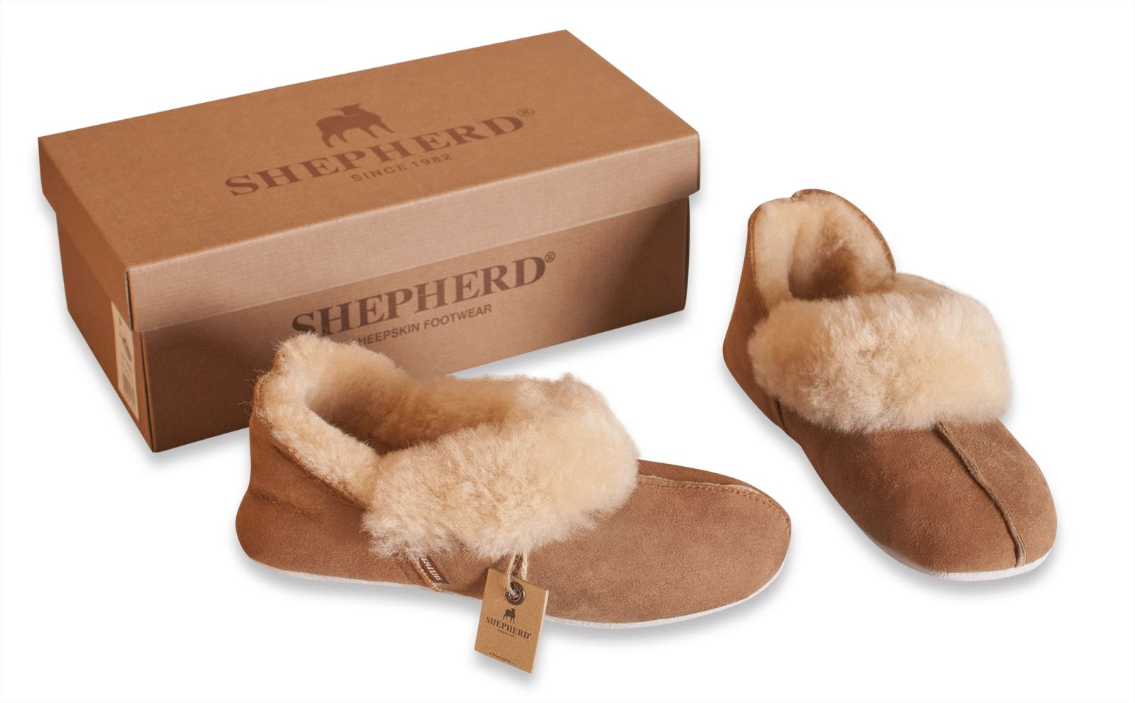 shepherd ladies genuine sheepskin slippers pumps soft sole real womens nina 927 ebay. Black Bedroom Furniture Sets. Home Design Ideas