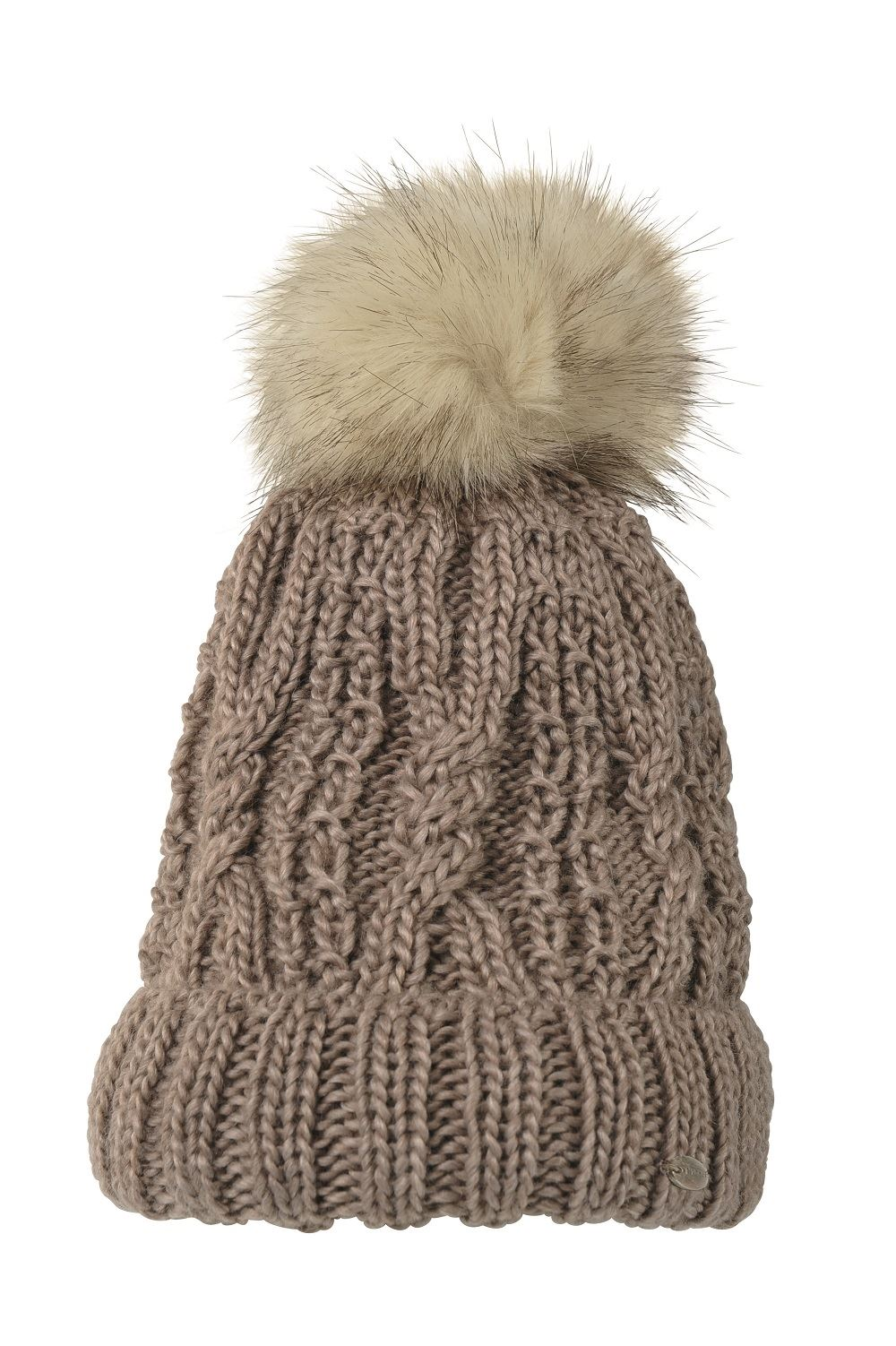 7a80062a7ac Pikeur Bobble Hat - 80500 Choice of Colours Light Taupe