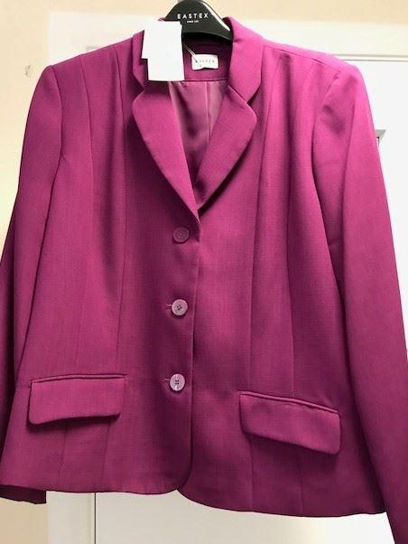 Eastex-Women-039-s-Jacket-Plum-UK-Size-22