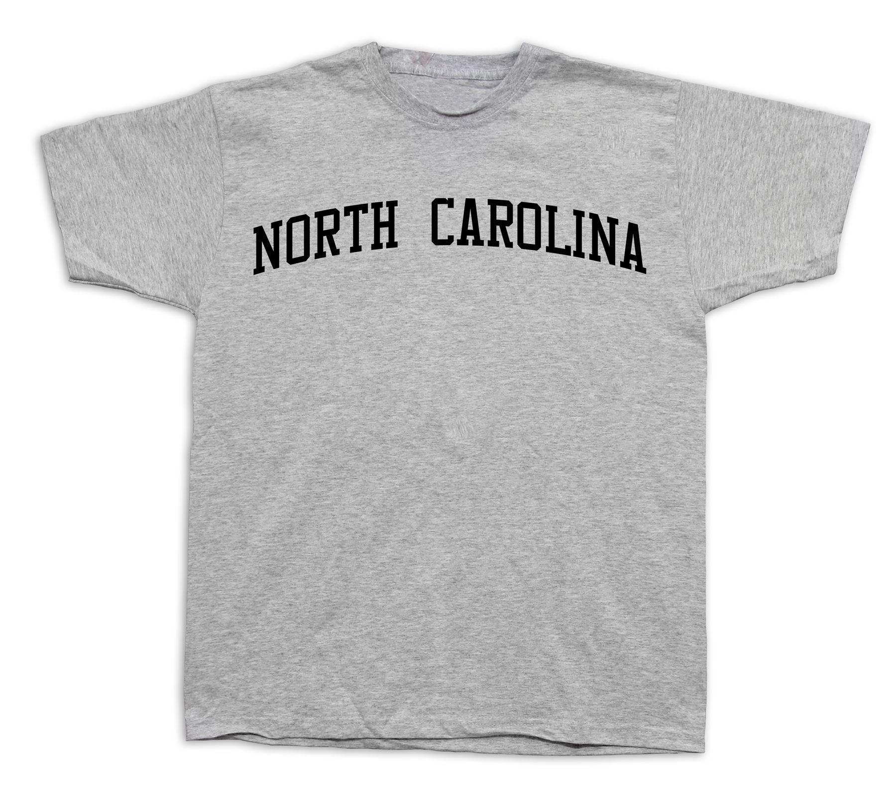 North Carolina Tar Heel First Fight State NC T-shirt University UNC ... 63bd63845