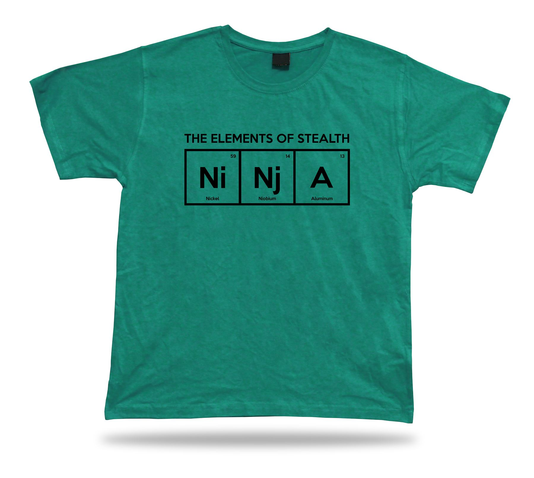Ninja chemical periodic table sign t shirt chemistry fashion ninja chemical periodic table sign t shirt chemistry urtaz Image collections