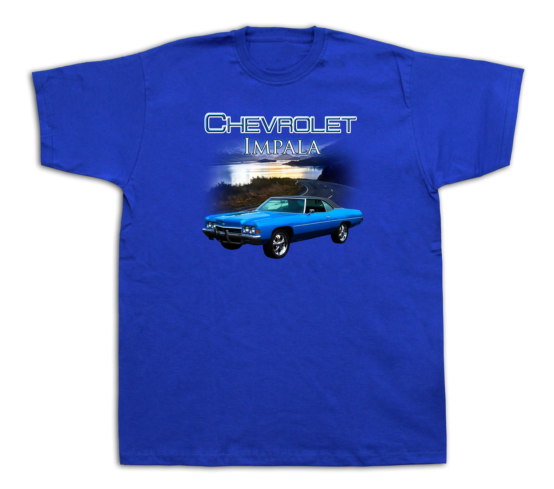 1972 chevrolet chevy impala beach sun tshirts hot rod. Black Bedroom Furniture Sets. Home Design Ideas