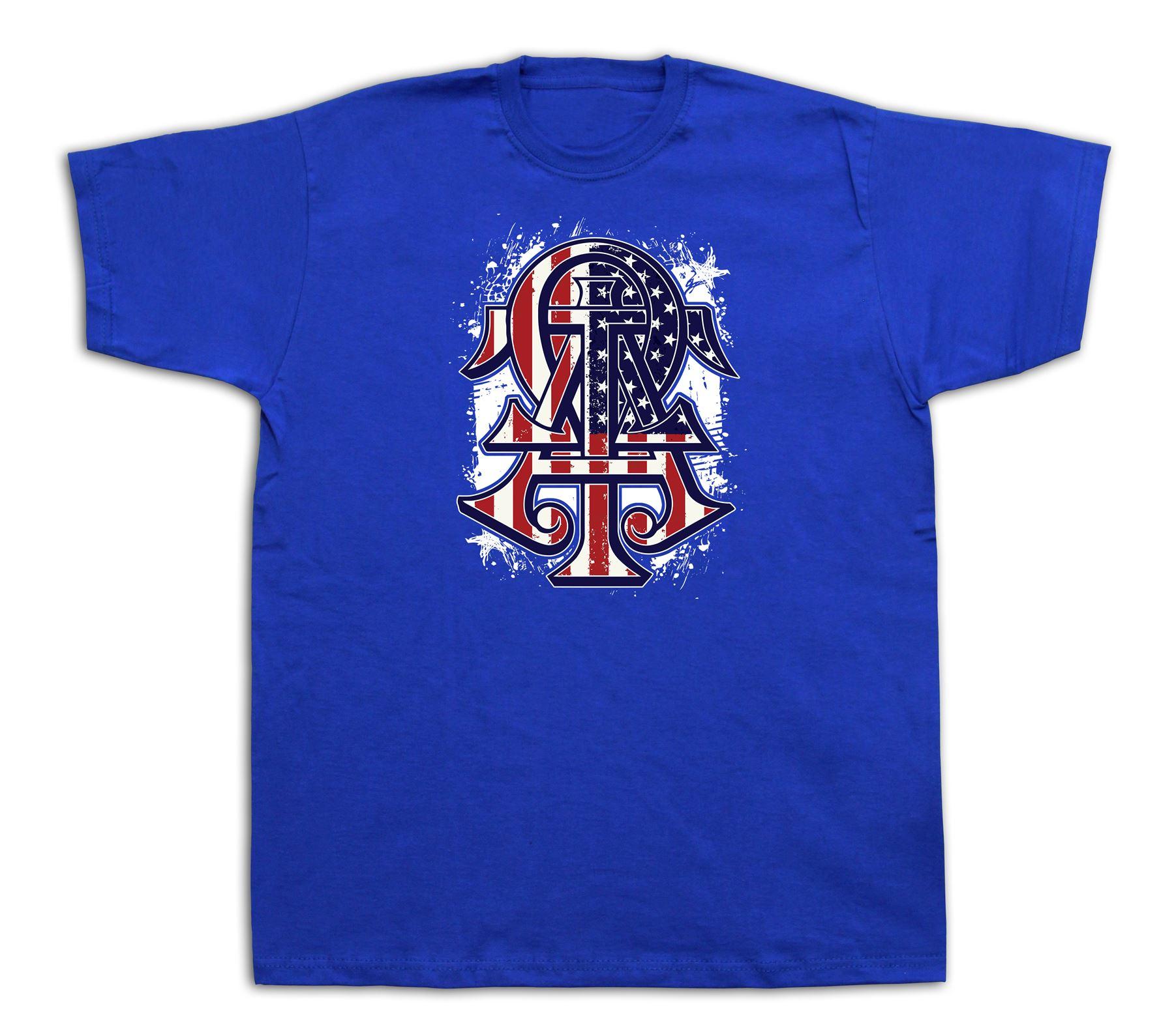 Omega usa flag t shirt master tee rare signcharm luck tee for T shirt printing usa