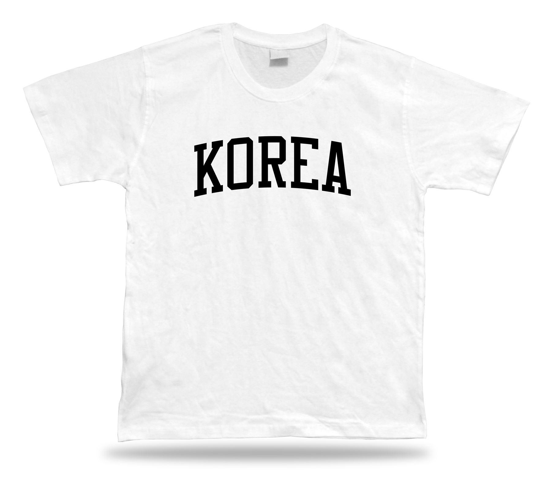 T-shirt Sylish Gift Idea Sport Short Sleave Korean Barbeque Seoul ... e299afc03