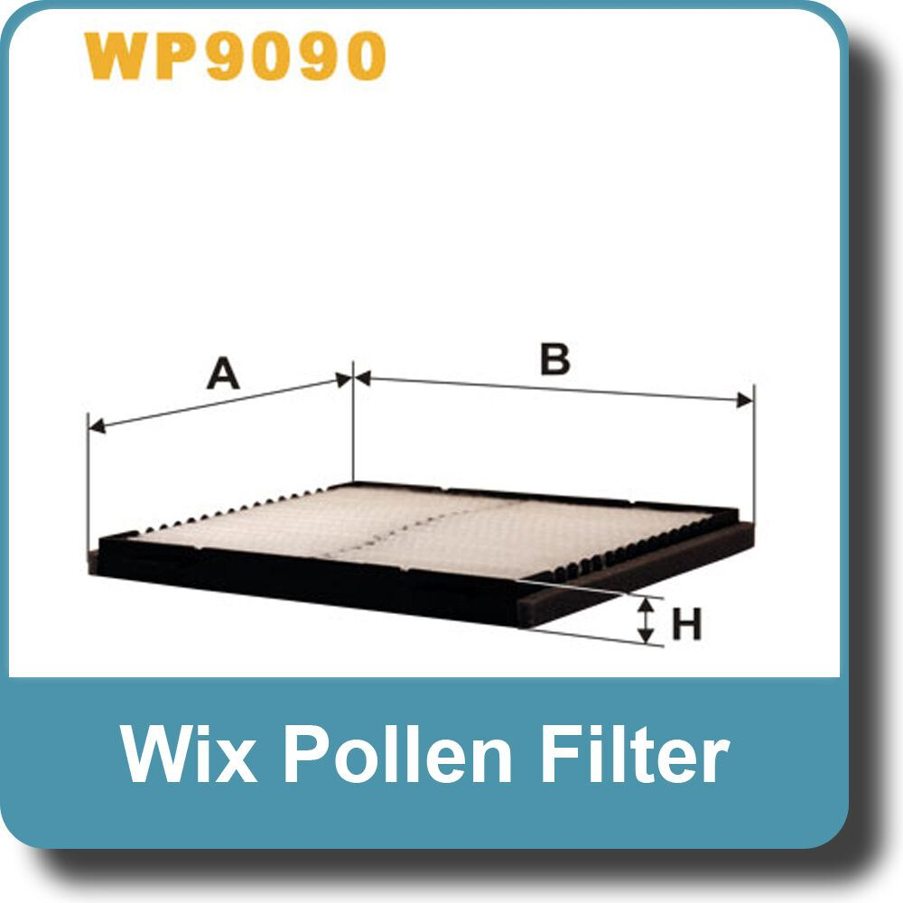 NEW Genuine WIX Replacement Pollen Filter WP9090