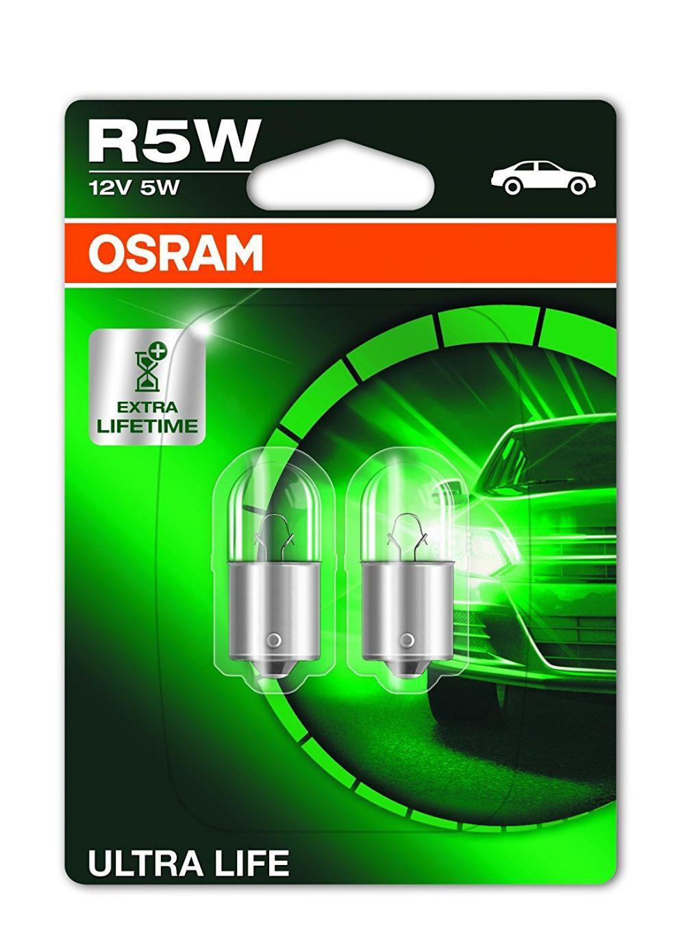 Osram Ultralife 5007Ult 12V 5W Twin Pack