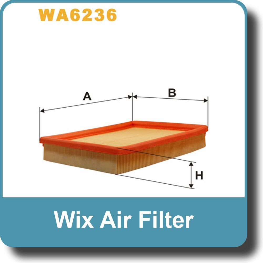 NEW Genuine WIX Replacement Air Filter WA6236