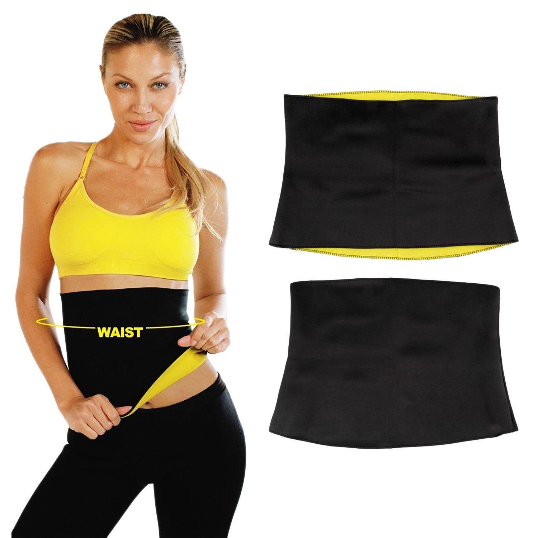 Slimming Exercise Waist Sweat Belt Wrap Fat Burner Body Neoprene Cellulite
