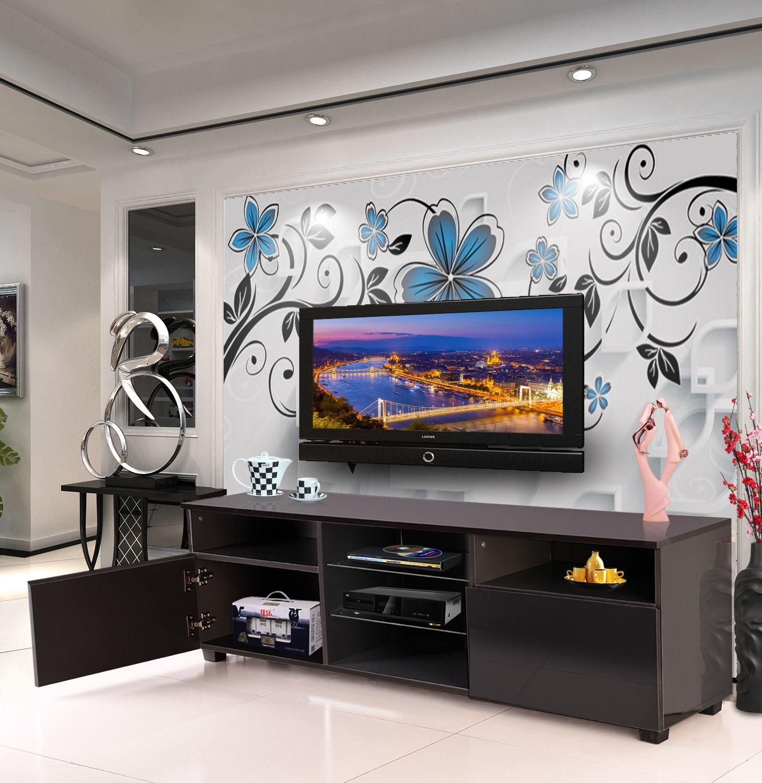 White Gloss Kitchen Cabinets Ebay: Modern TV Unit 145cm Matt White Gloss Grey Black Cabinet