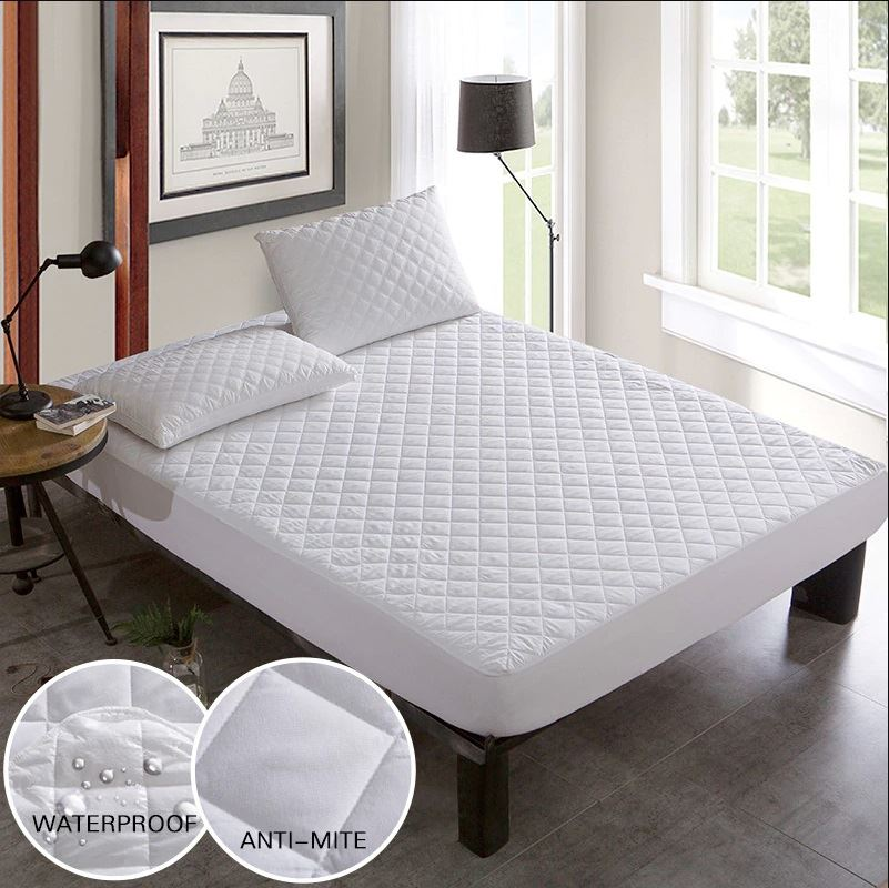 """ALL SIZES EXTRA DEEP QUILTED MATTRESS PROTECTOR 12/"""" FITTED BED COVER"""