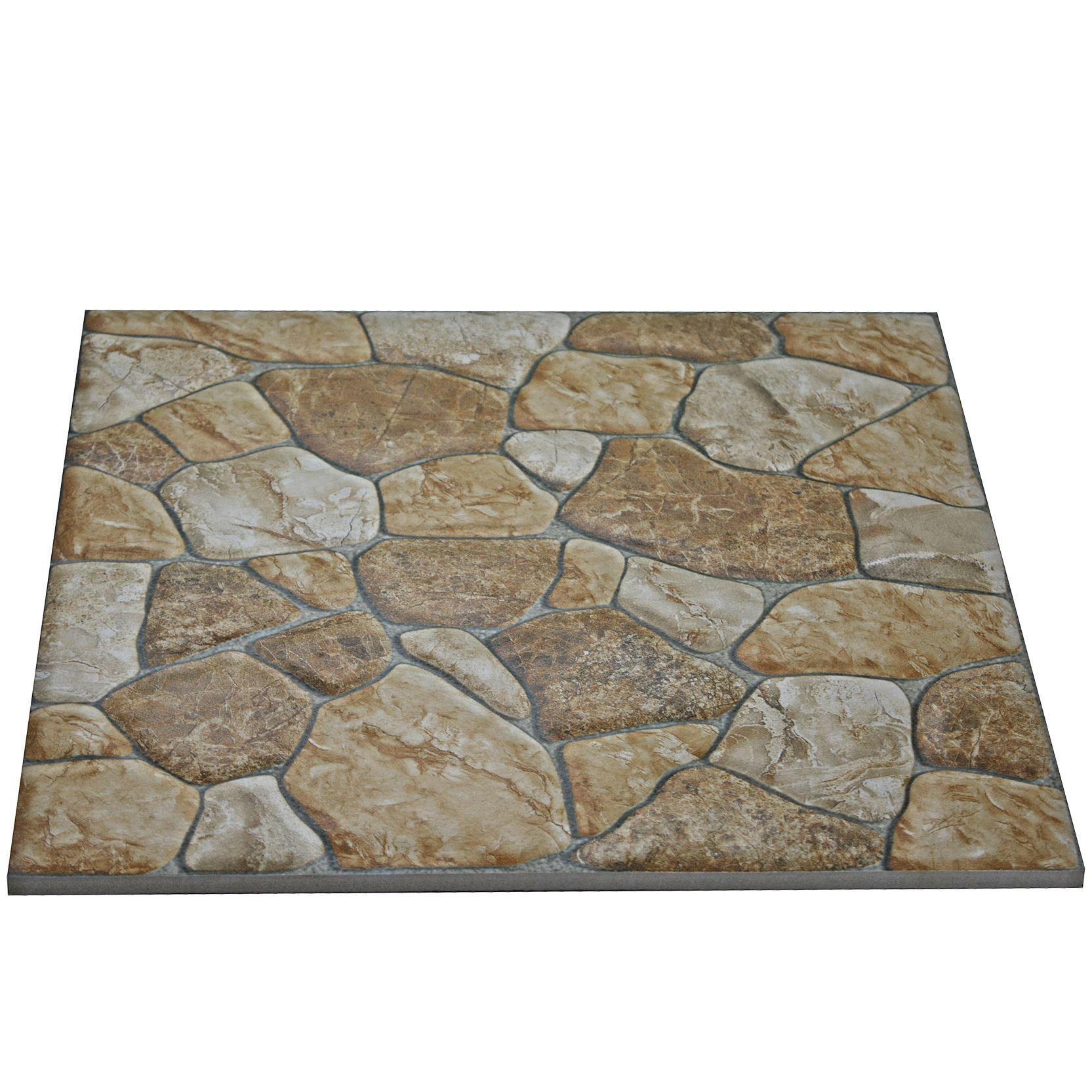 Details about Ceramic Tiles Indiana Stone Design Matt Natural Ceramic Floor  Tiles 30x30cm