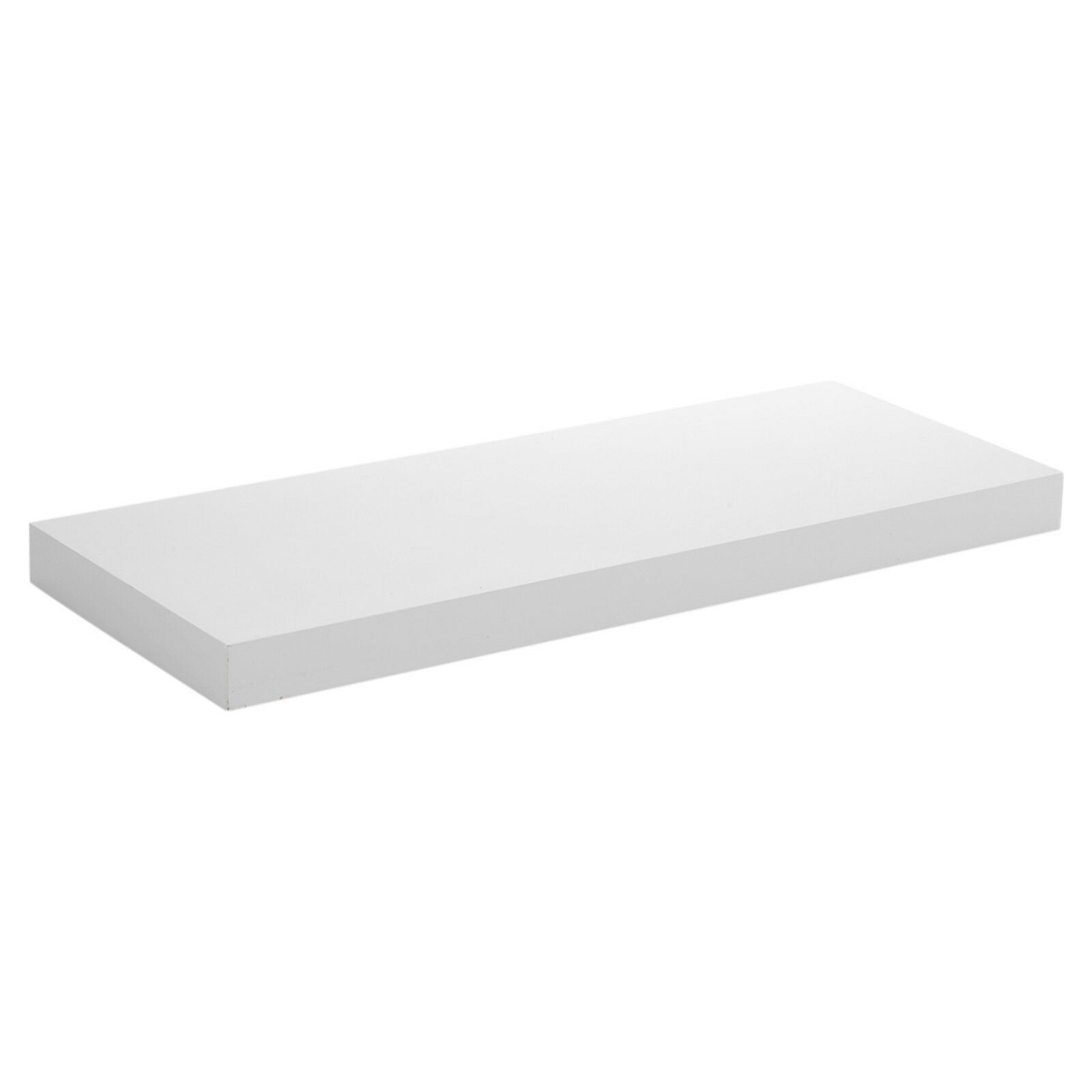 Floating-Wooden-Wall-Shelves-Shelf-Wall-Storage-3-Sizes-White-and-Marble thumbnail 12