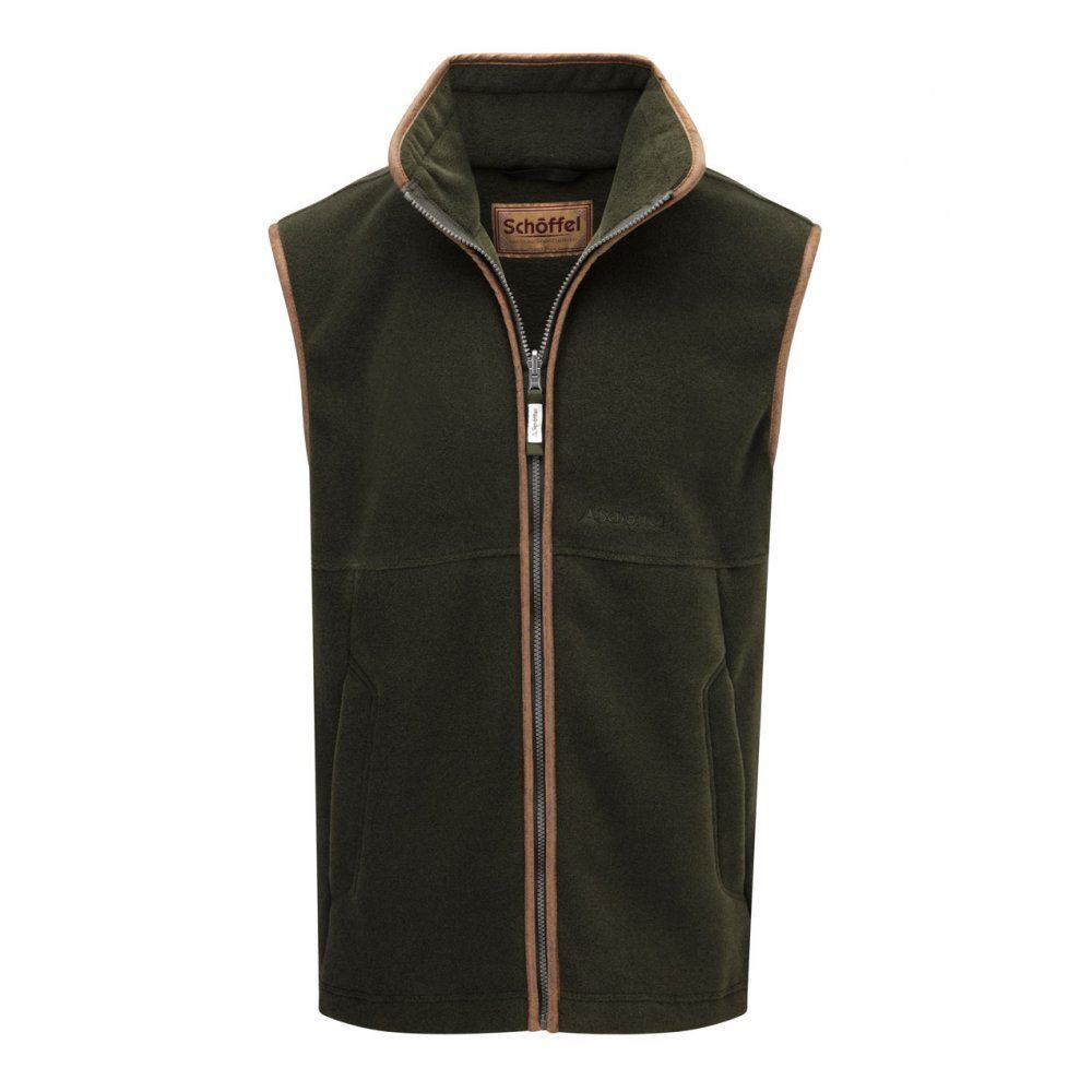 Schoffel Oakham Fleece Gilet - Forest
