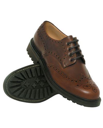Hoggs Glengarry scarpe-Marronee   prendere in considerazione        Uomini/Donna Scarpa  757013