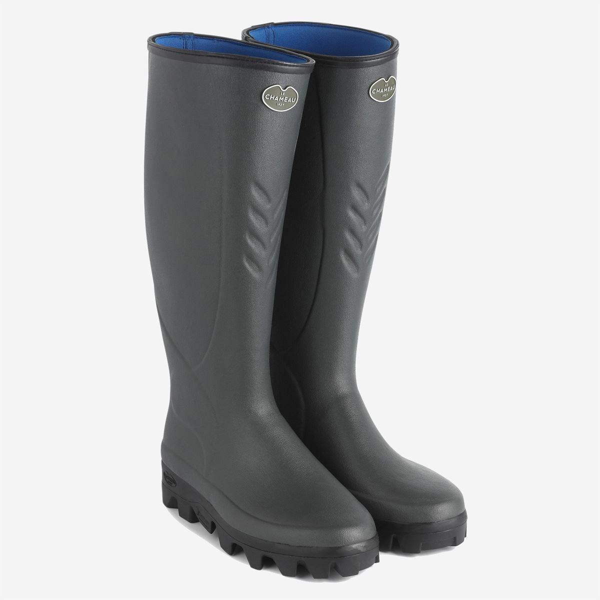 Le Chameau Ceres Neoprene Lined Wellington Boots