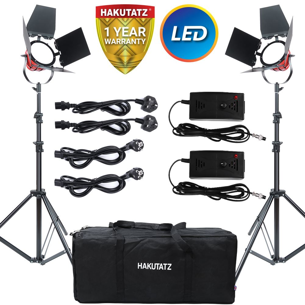 Continuous Led Red Head Lighting Kit 650w 5400k Video Light With