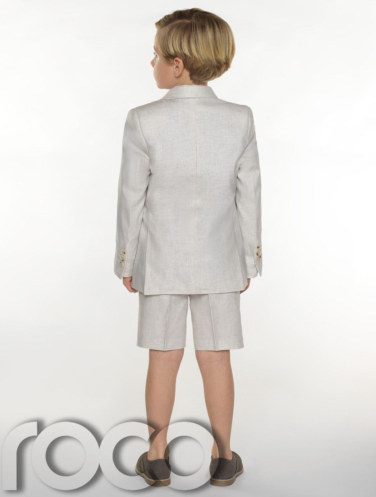 Boys-suits-boys-lin-costumes-page-garcon-tenues-garcons-formal-suits-avec-short miniature 11