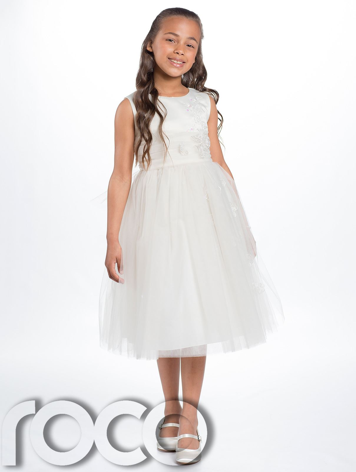 Fleur filles robe demoiselle d 39 honneur robes filles robe for Fleurs fille robes mariage
