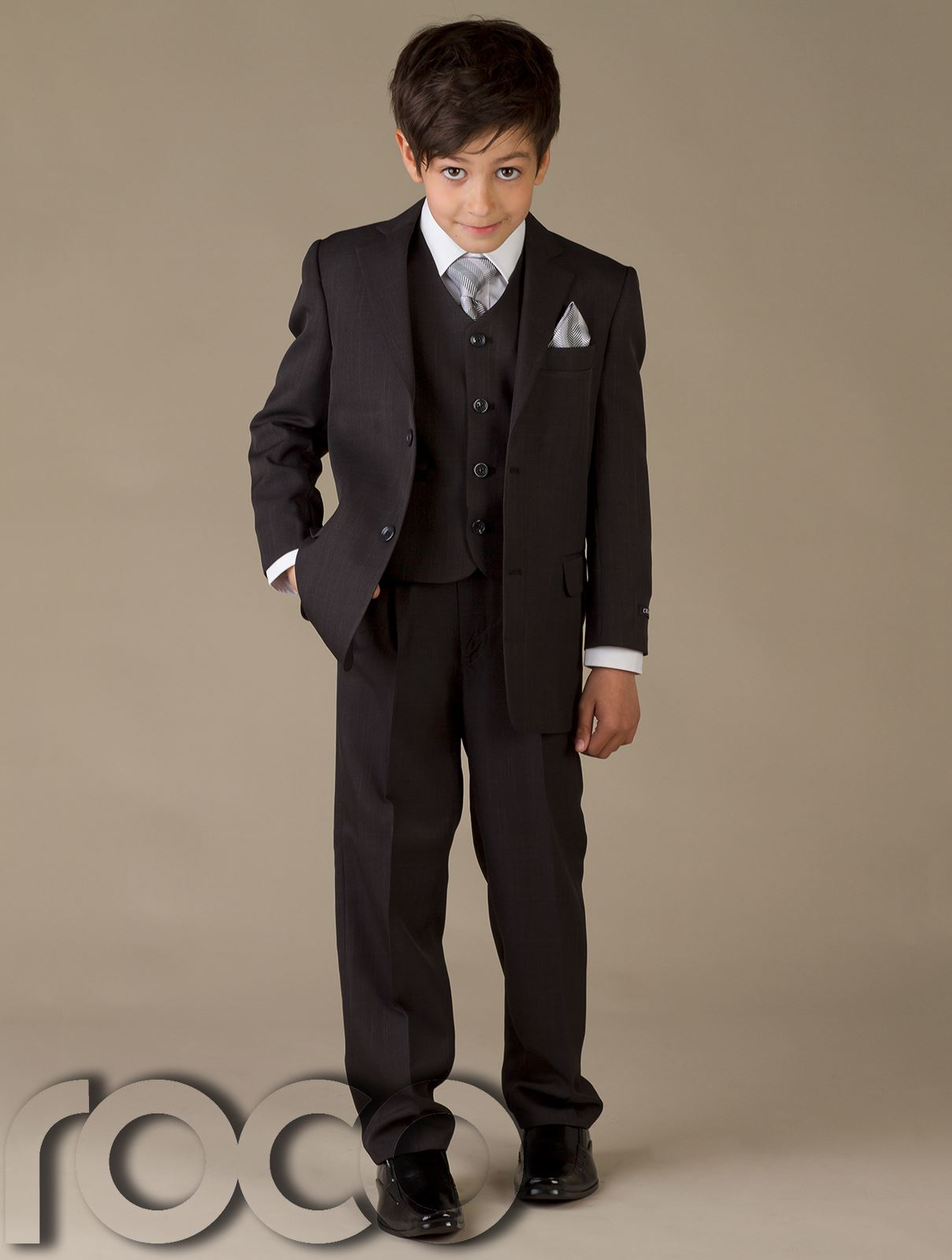 Boys Wedding Suit, Boys Prom Suit, Navy, Grey, Page Boy Suits, Age 1 ...