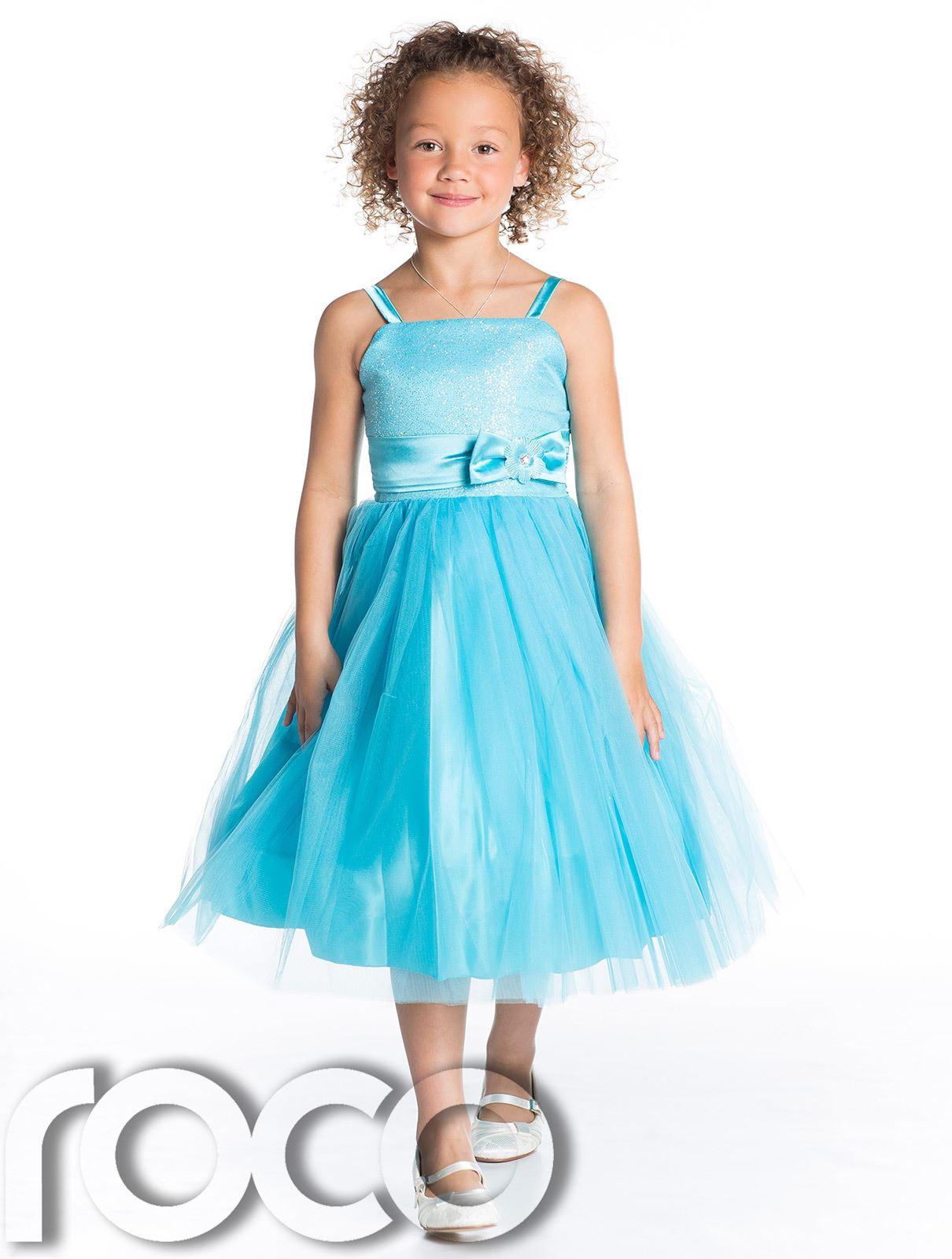 Girls Bridesmaid Dresses, Bow Detail Dress, Girls Party Dress, Prom ...