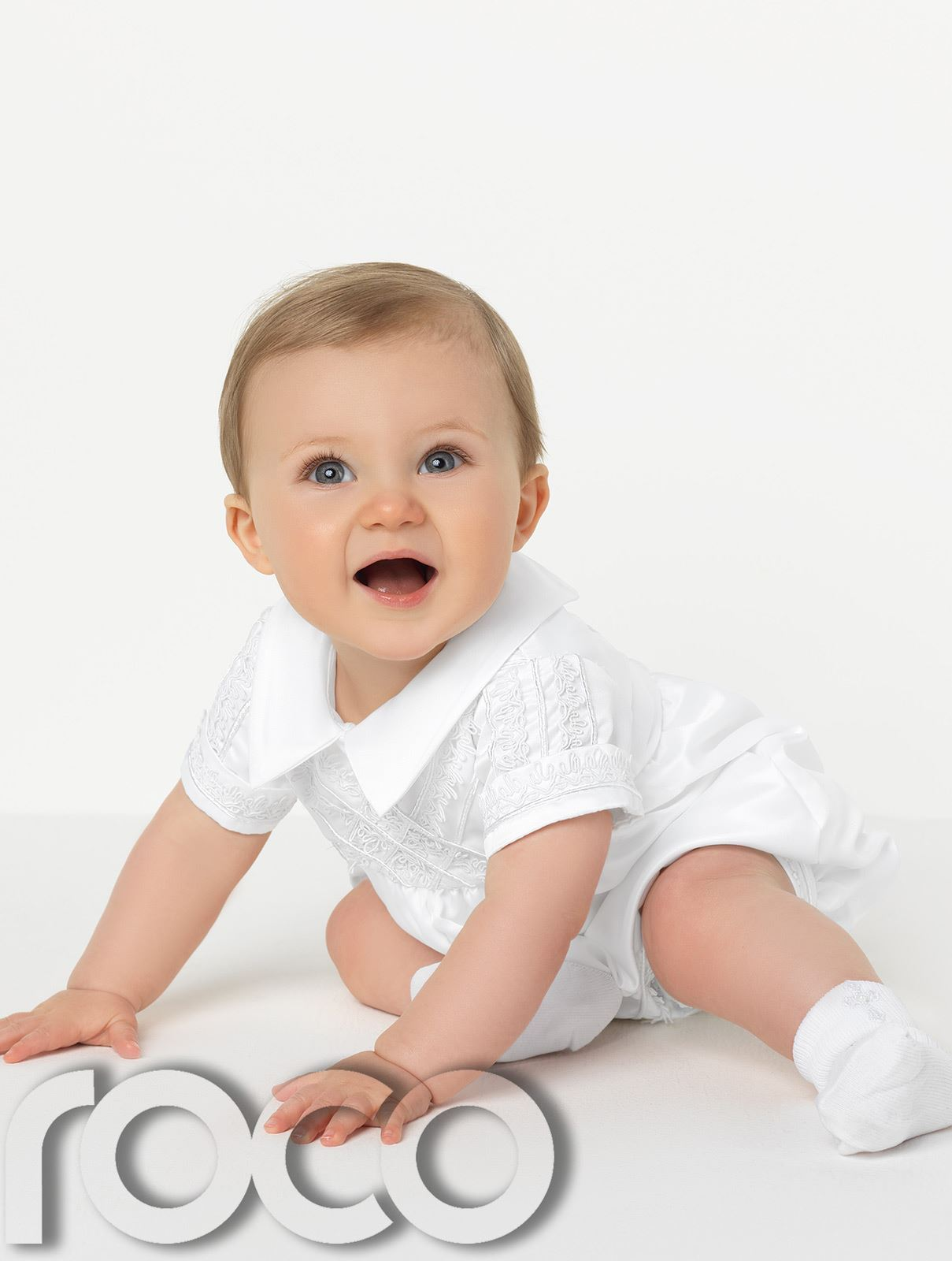 Baby-Boys-Romper-Suits-Boys-Christening-Outfits-Boys-Christening-Suits thumbnail 8
