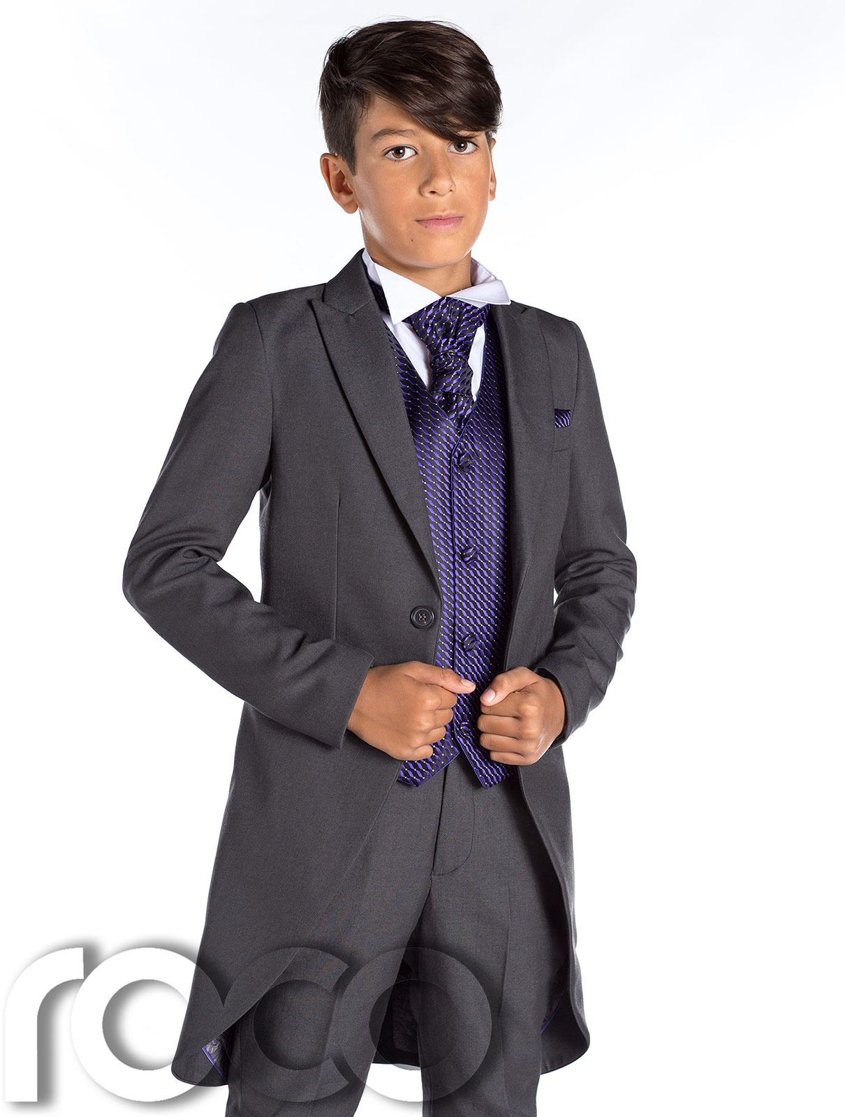 Boys Grey Tail Suit, Boys Morning Suits, Grey Suit, Prom Suits For ...