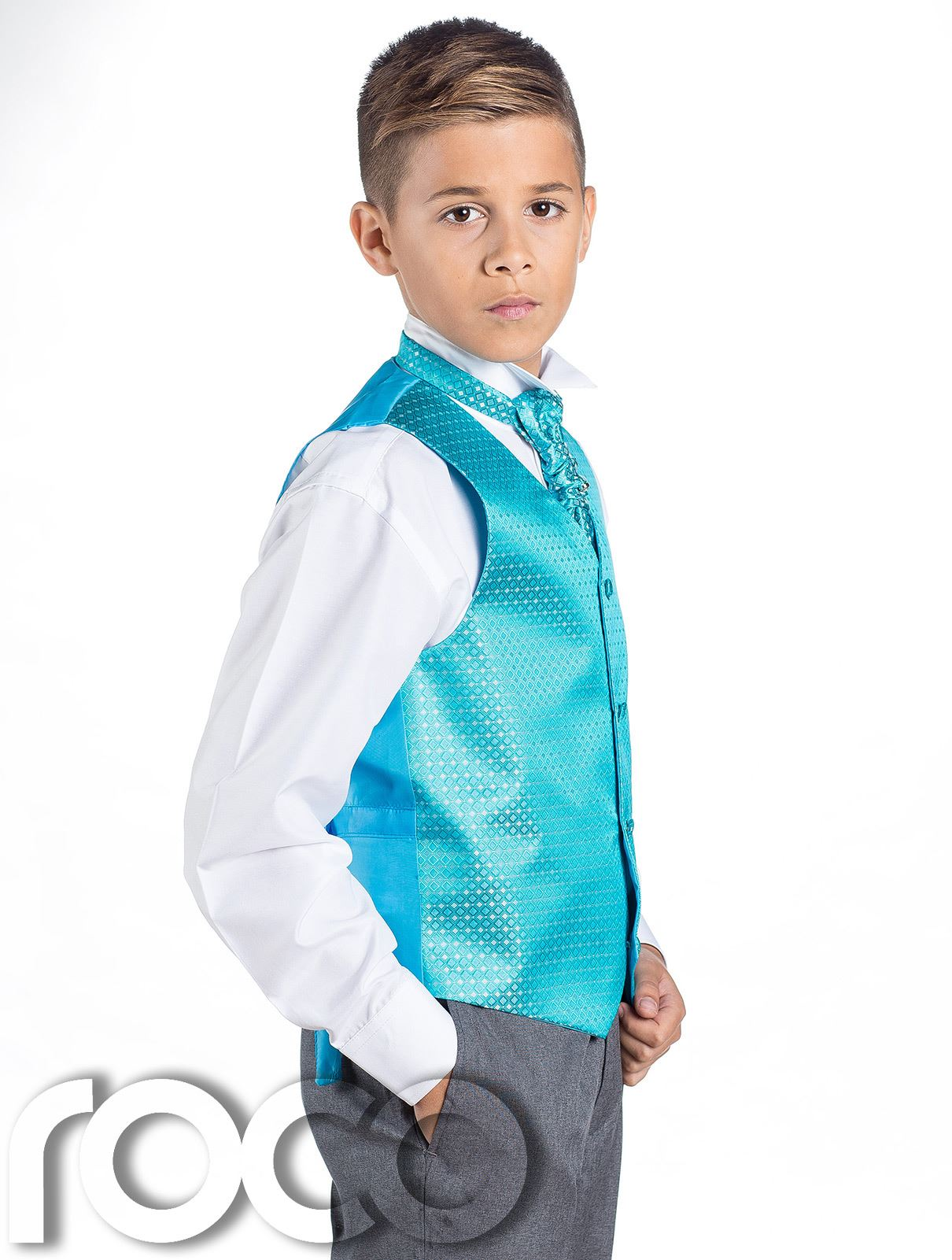 Boys Waistcoat Suit, Boys Wedding Suits, Page Boy Suits, Grey ...