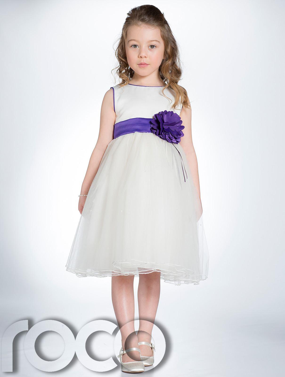 Girls Ivory Dress, Flower Girl Dresses, Party Dresses ...