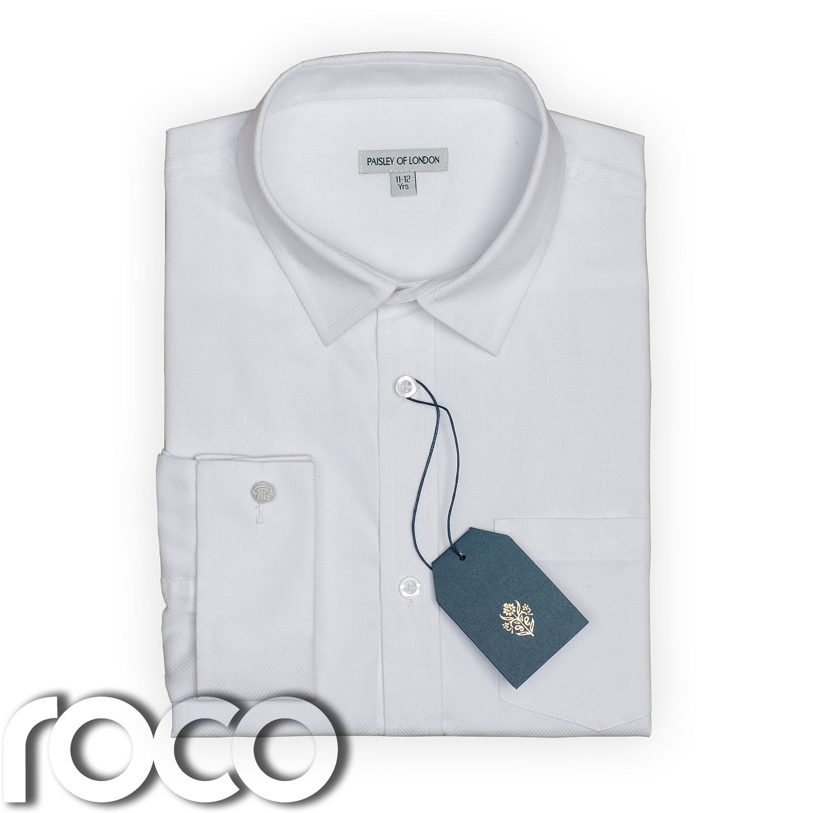 Boys white cufflink shirt boys formal shirts boys for Boys white formal shirt