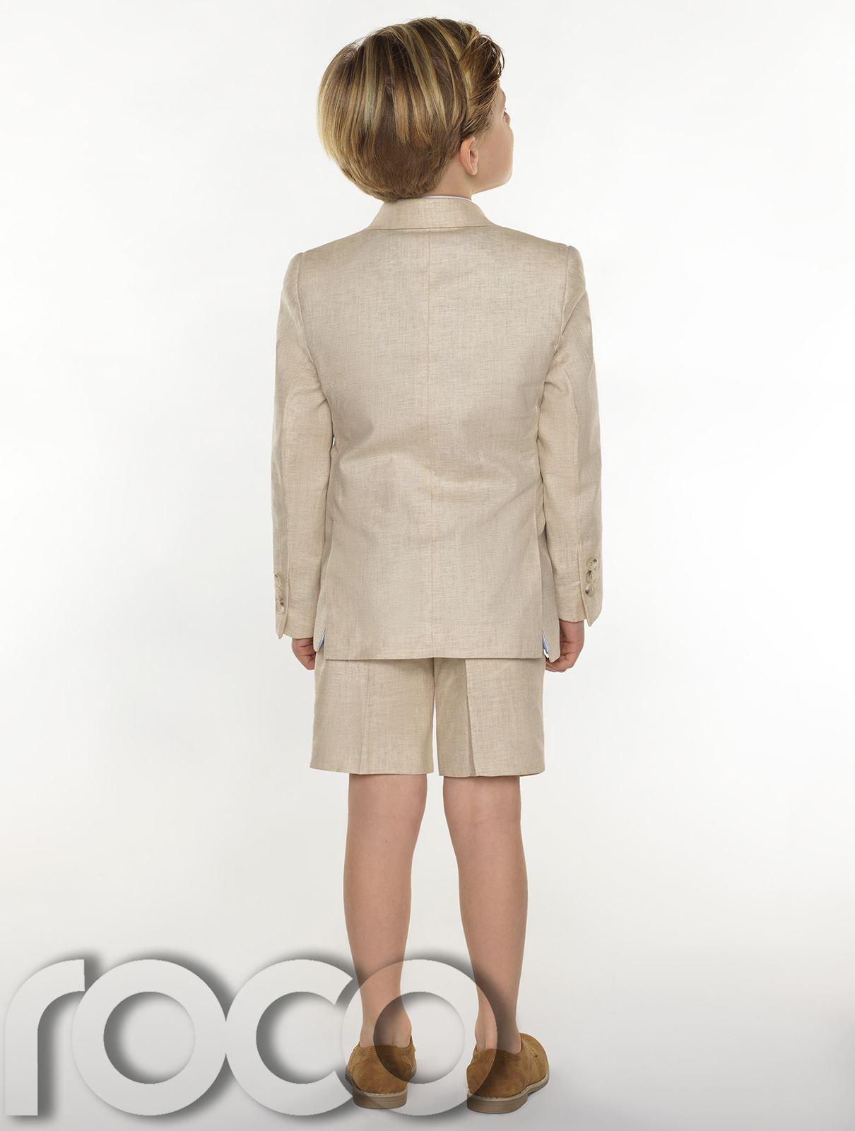 Boys-suits-boys-lin-costumes-page-garcon-tenues-garcons-formal-suits-avec-short miniature 6