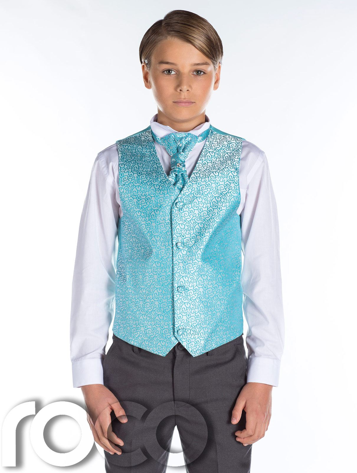 Grey Tail Suit Boys Wedding Outfits Prom Suit Page Boy Suit Boys Grey Suit | eBay