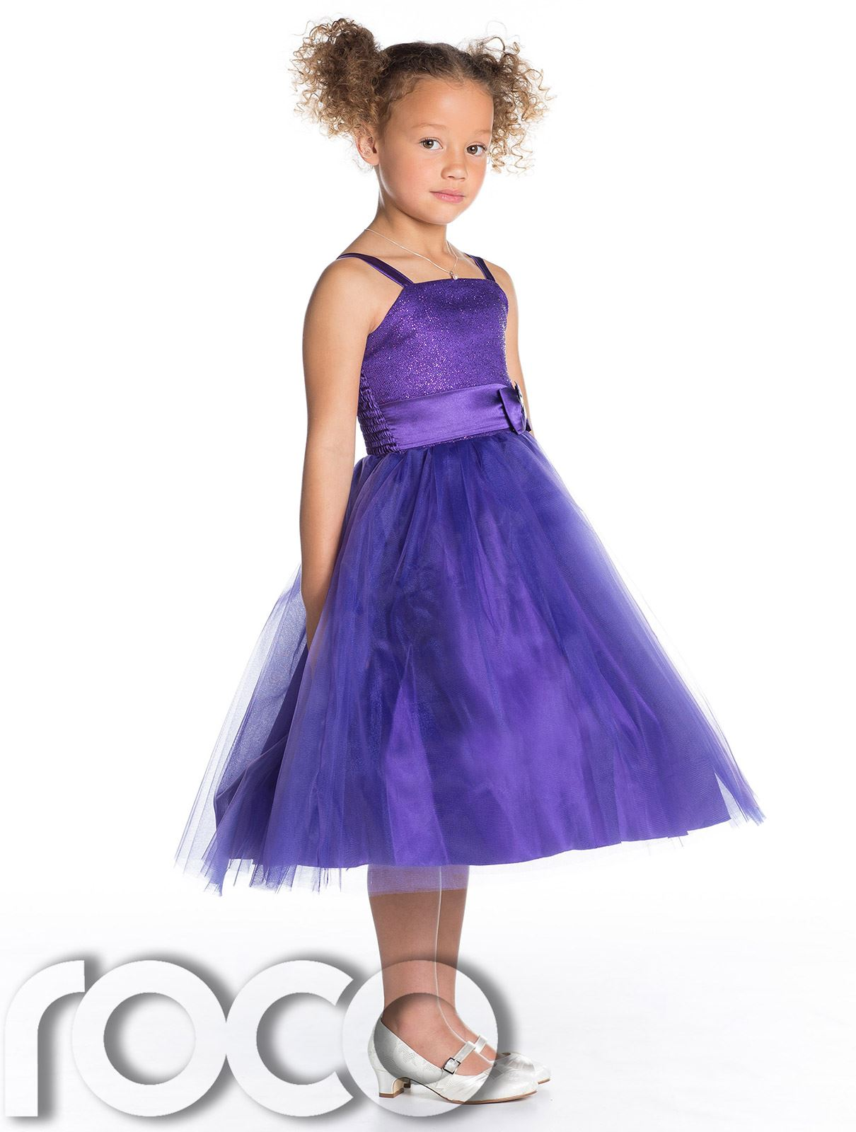Girls Bridesmaid Dresses, Bow Detail Dress, Girls Party Dress, Prom ...