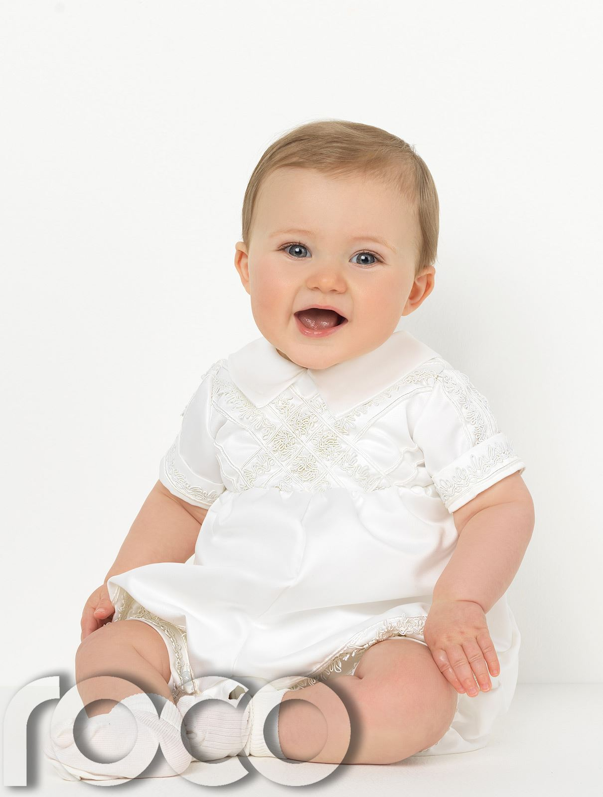 Baby-Boys-Romper-Suits-Boys-Christening-Outfits-Boys-Christening-Suits thumbnail 4