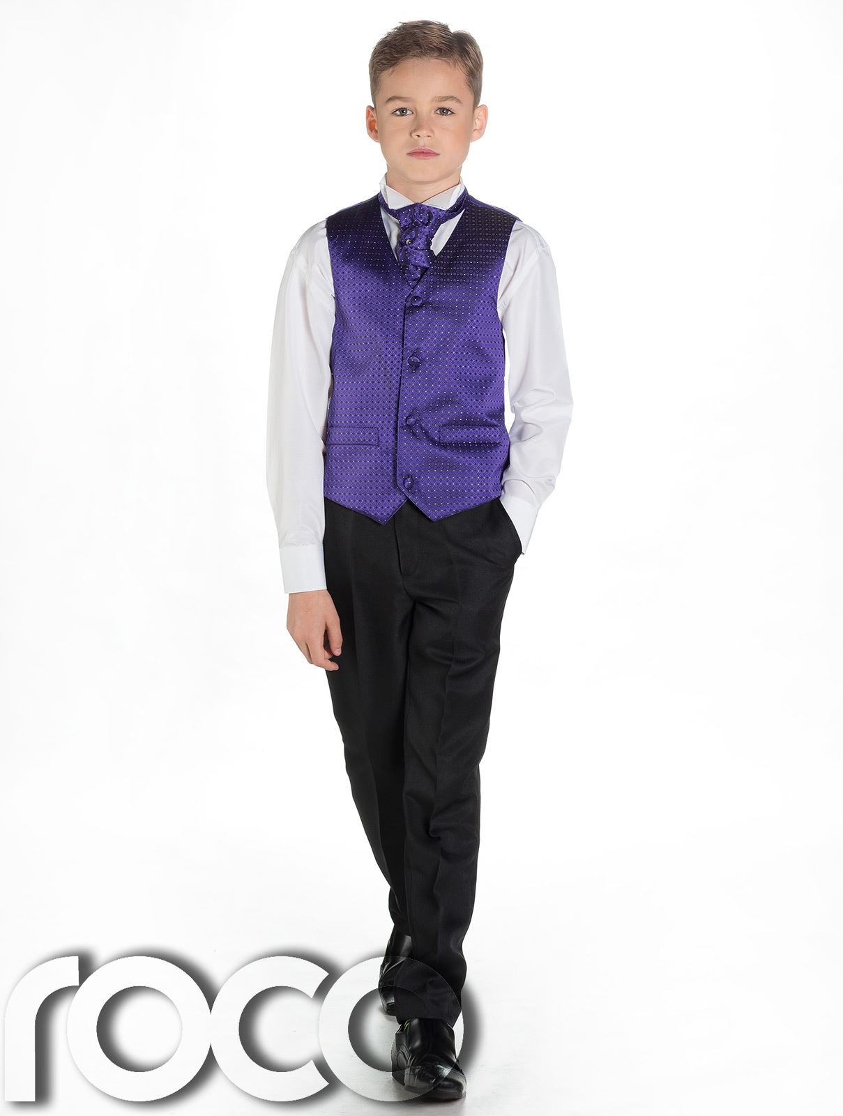 Boys Waistcoat Suit, Boys Wedding Suits, Page Boy Suits, Black ...