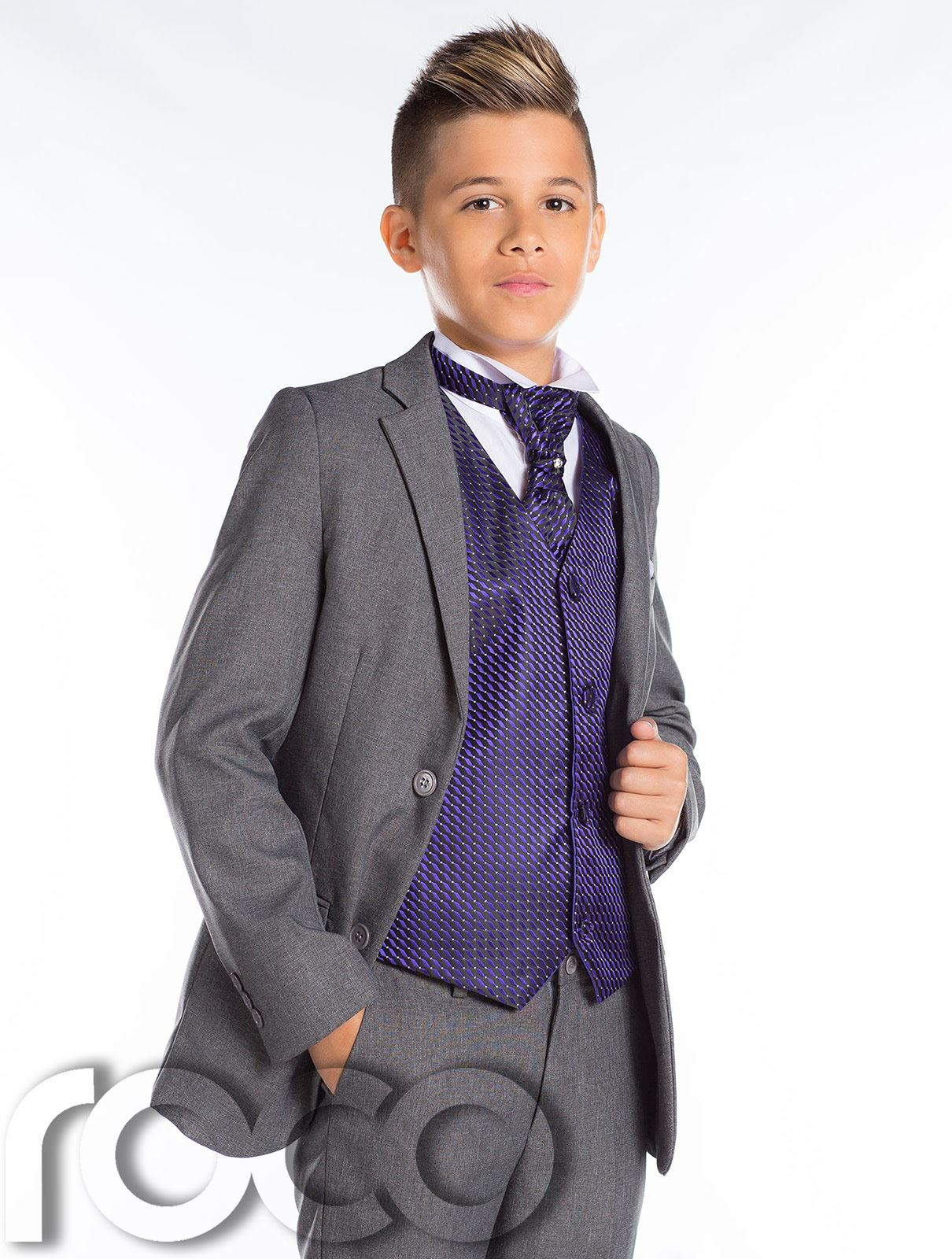 Boys Grey Suit, Boys Slim Fit Suit, Boys Prom Suit, Boys Wedding ...