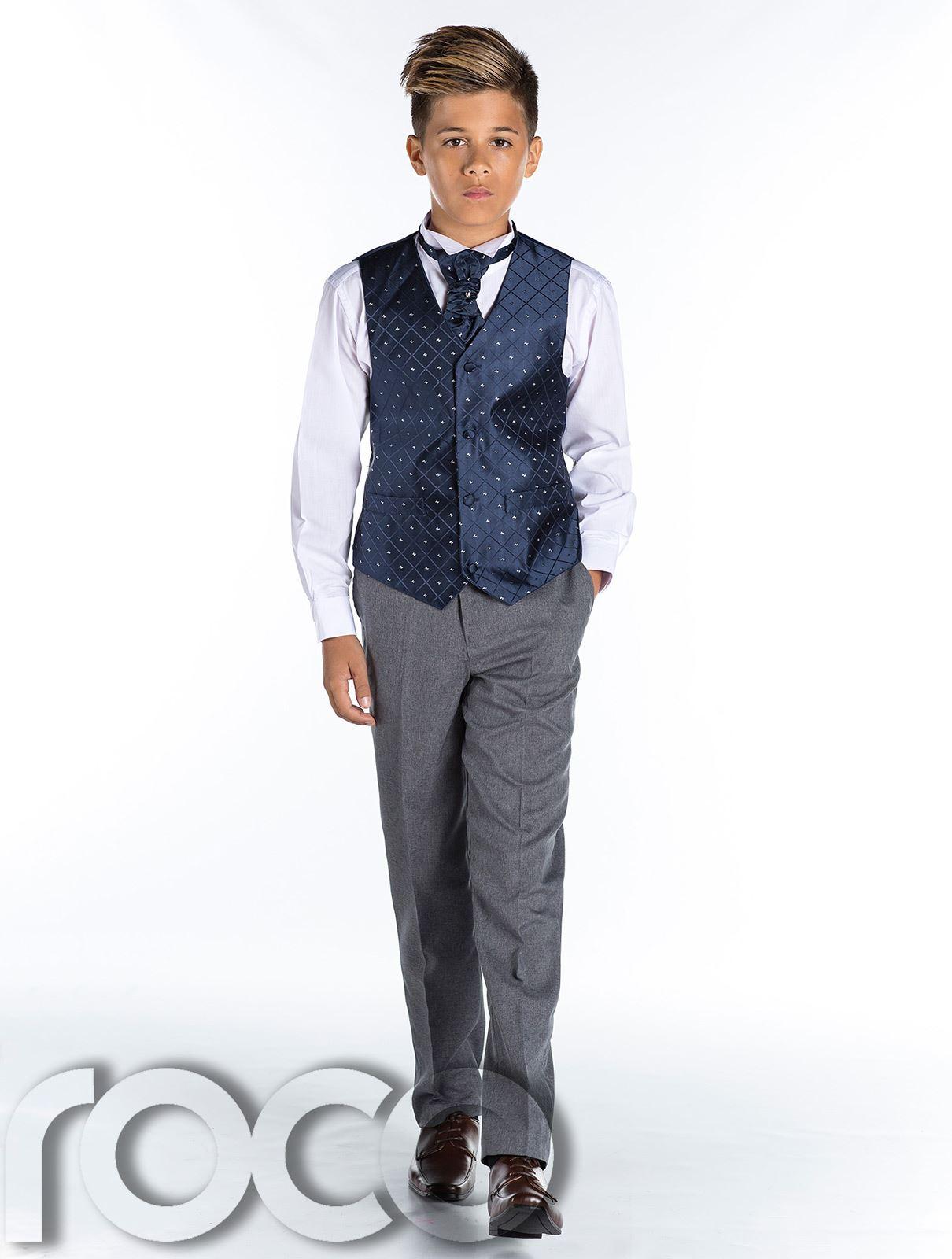 Boys Waistcoat Suit, Page Boy Suit, Boys Formal Suit, Boys ...
