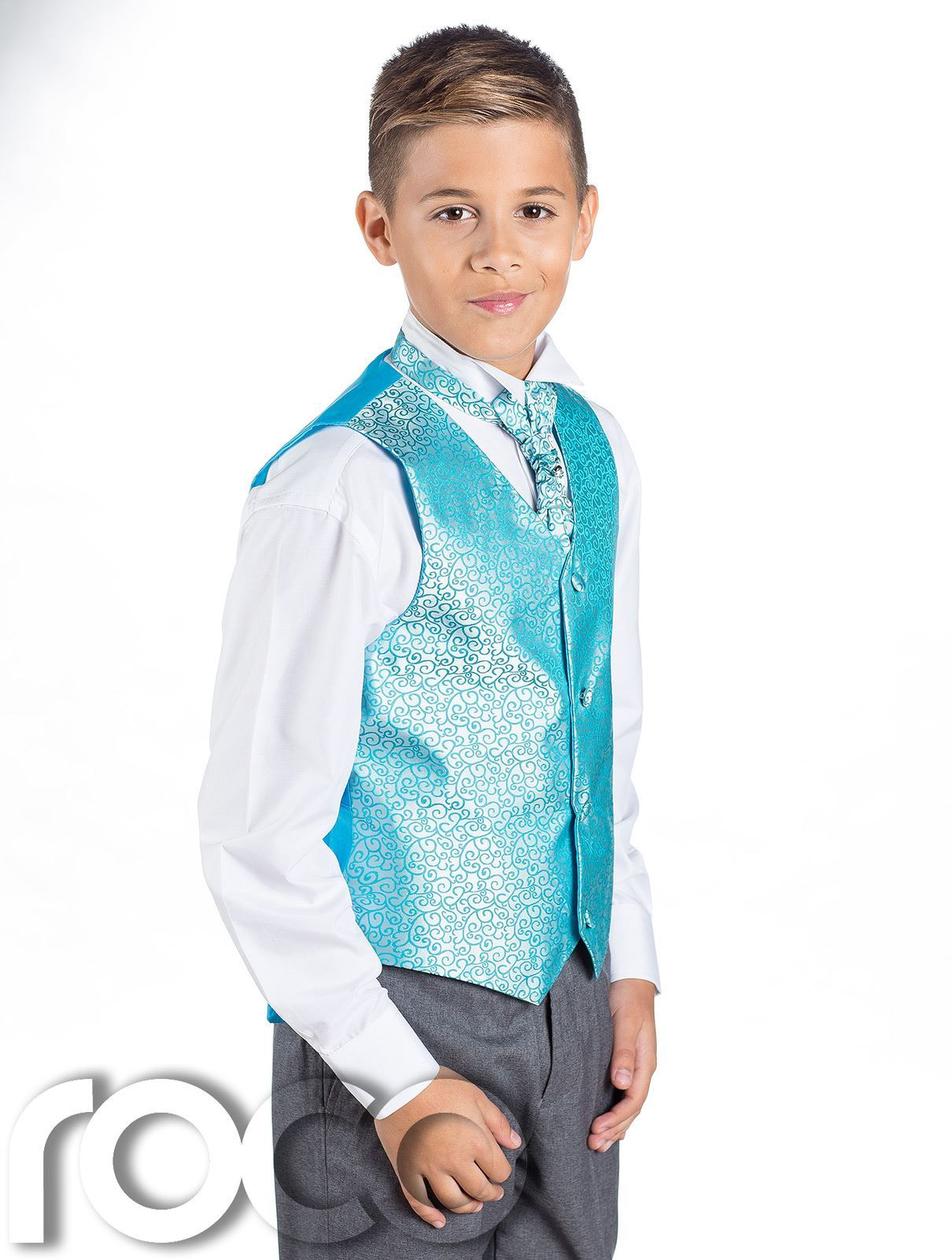 Boys Swirl Waistcoat Suit, Page Boy Suits, Boys Wedding Suits, Grey ...