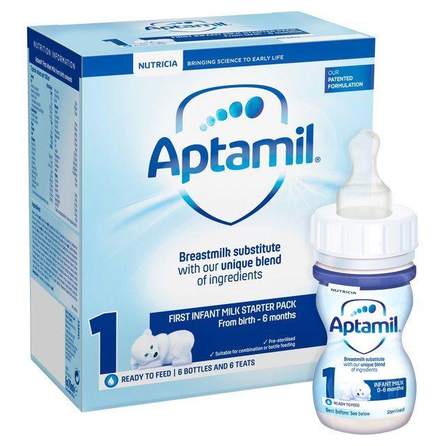 Aptamil First Infant Milk Starter Pack 1 From Birth 6x70ml 1 2 3 6 12 Packs