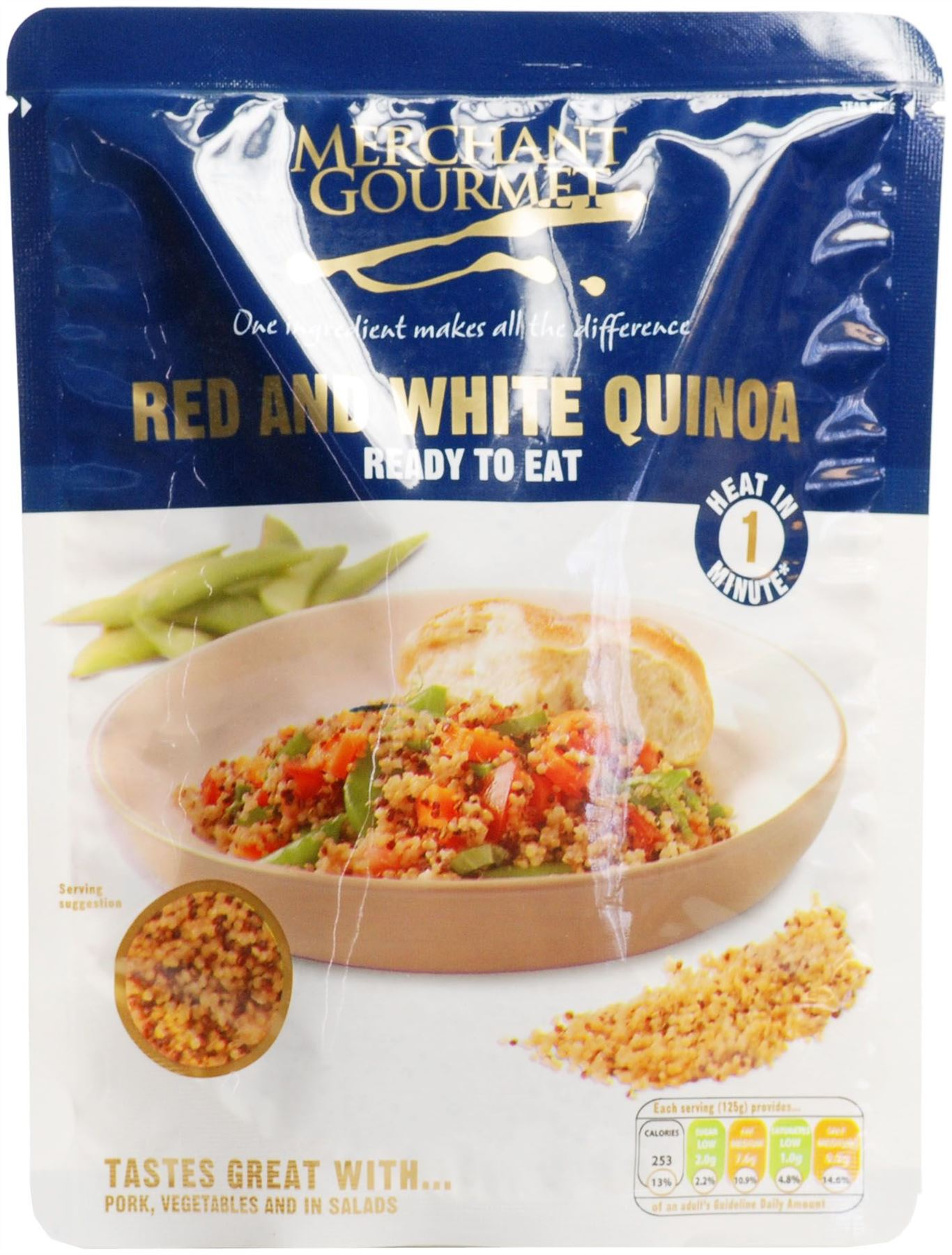 Ready To Eat Red And White Quinoa - 250g (Pack of 6)