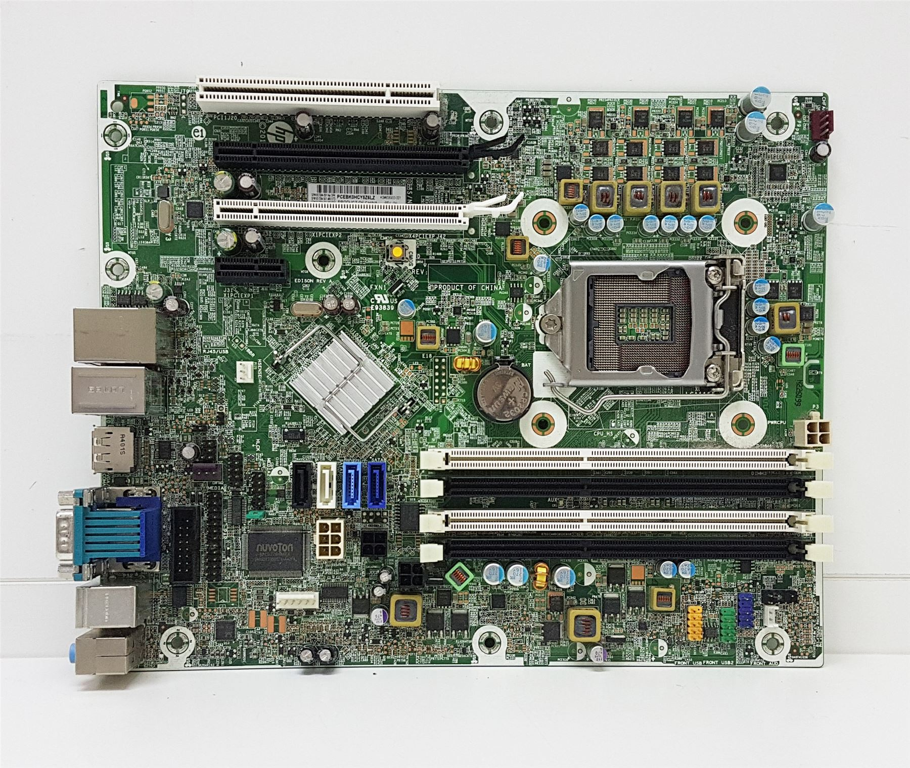 Details about HP Compaq Elite 8300 SFF Motherboard LGA1155 3rd | 657094-001  656933-001