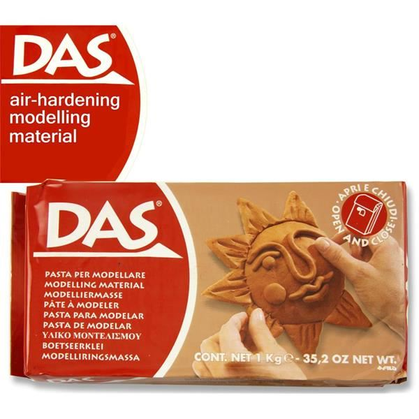 Das Modelling Clay - White or Terracotta - 1/2Kg or 1Kg Size