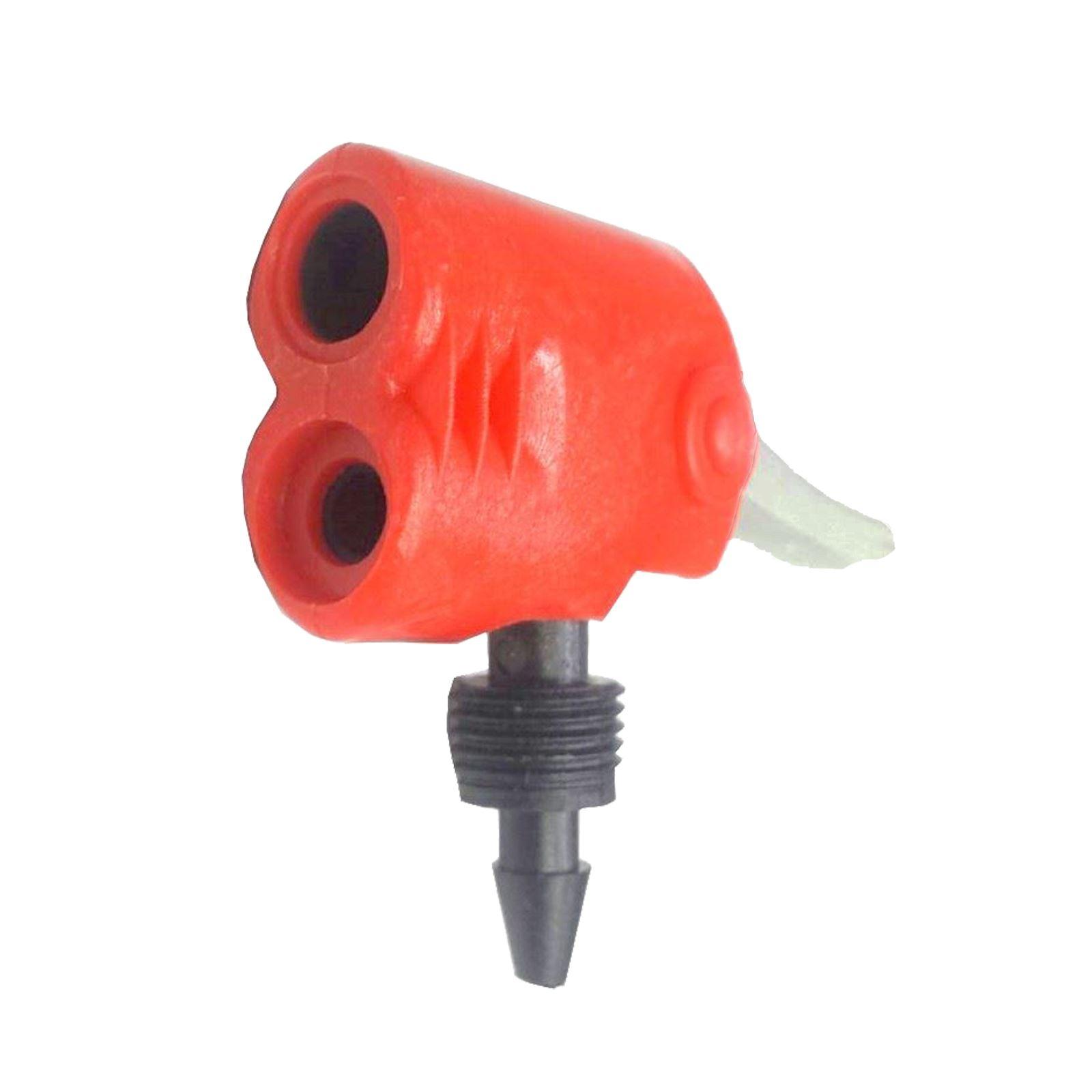 Bicyle Bike Track Pump Nozzle Dual Head Adapter Schrader//Presta Valve Convertor