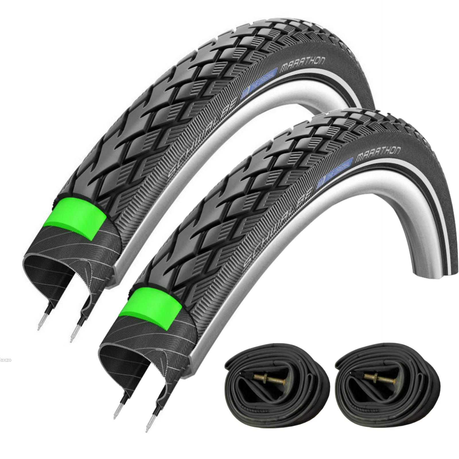 Black//Reflex 26 x 2.00 Schwalbe Marathon Performance Wired Tyre