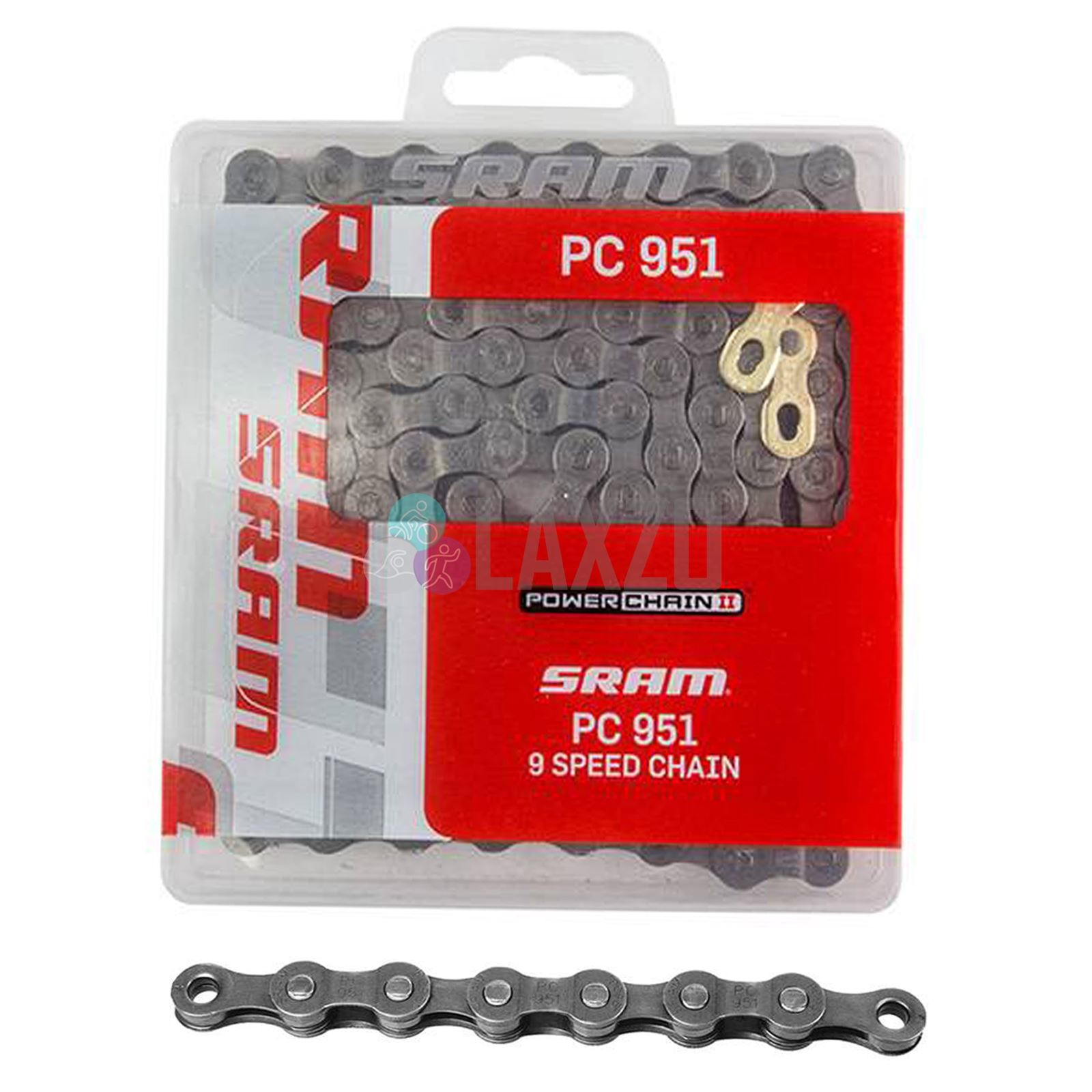 SRAM PC-971 PowerChain II 9 vitesses mtb chaîne vélo cycle neuf