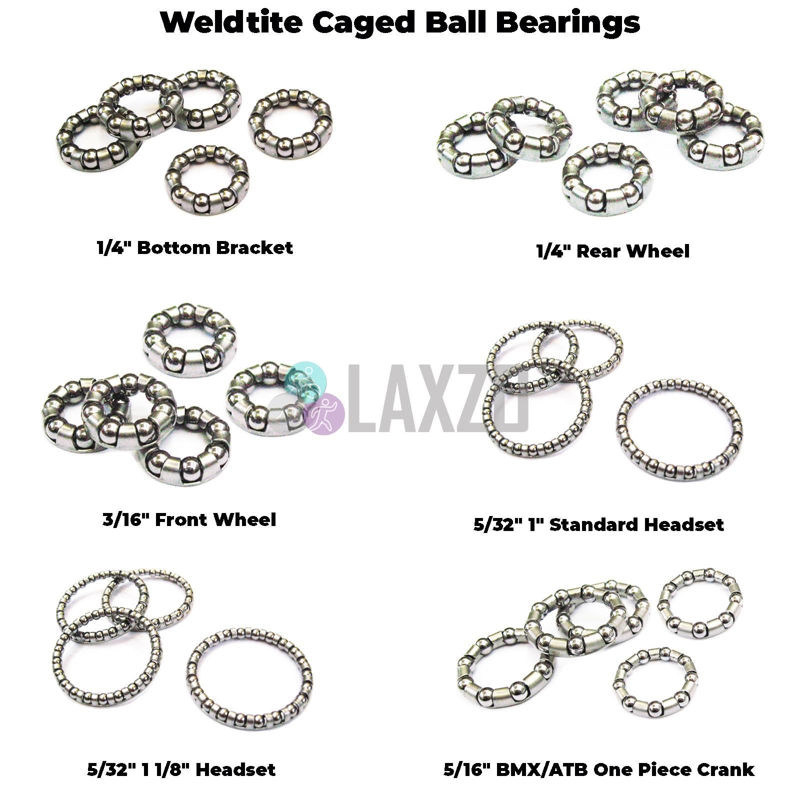 """72 X Weldtite 3//16/"""" Steel Ball Bearings for Wheels /& Bottom Bracket"""