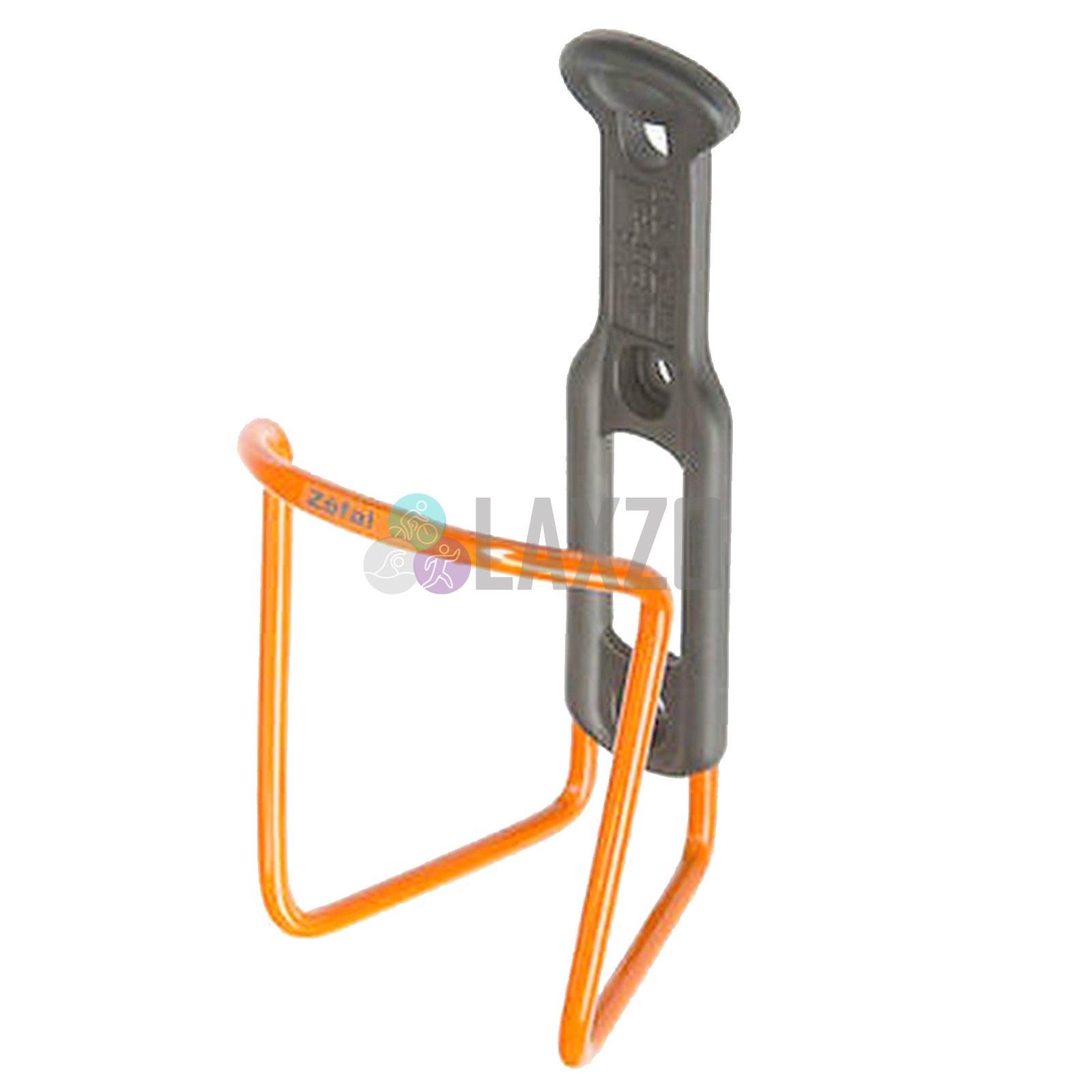 Zefal bicicleta portabidones para botella de agua vintage cromo con cuero